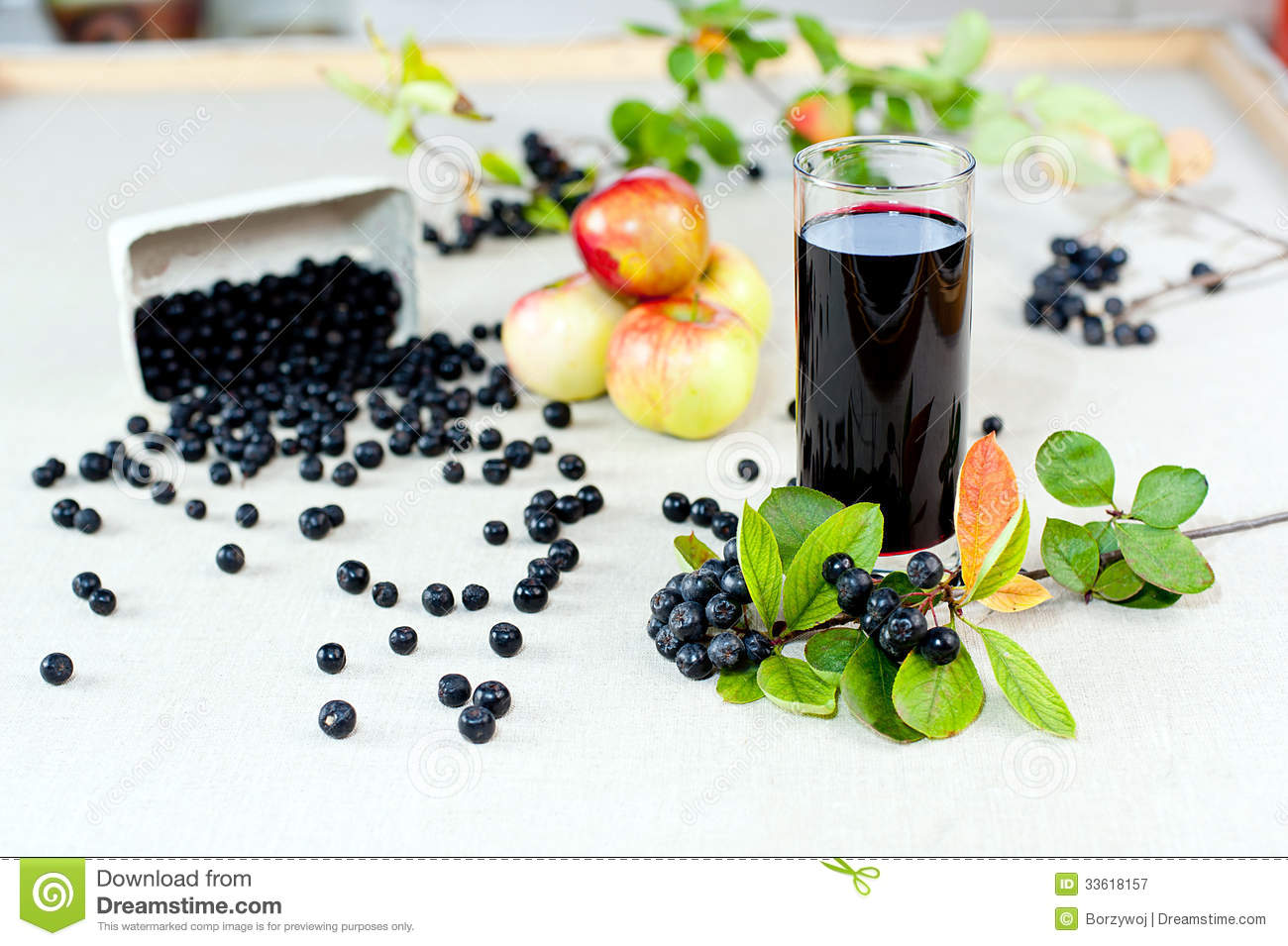 aronia juice royalty free stock photography image 33618157. Black Bedroom Furniture Sets. Home Design Ideas