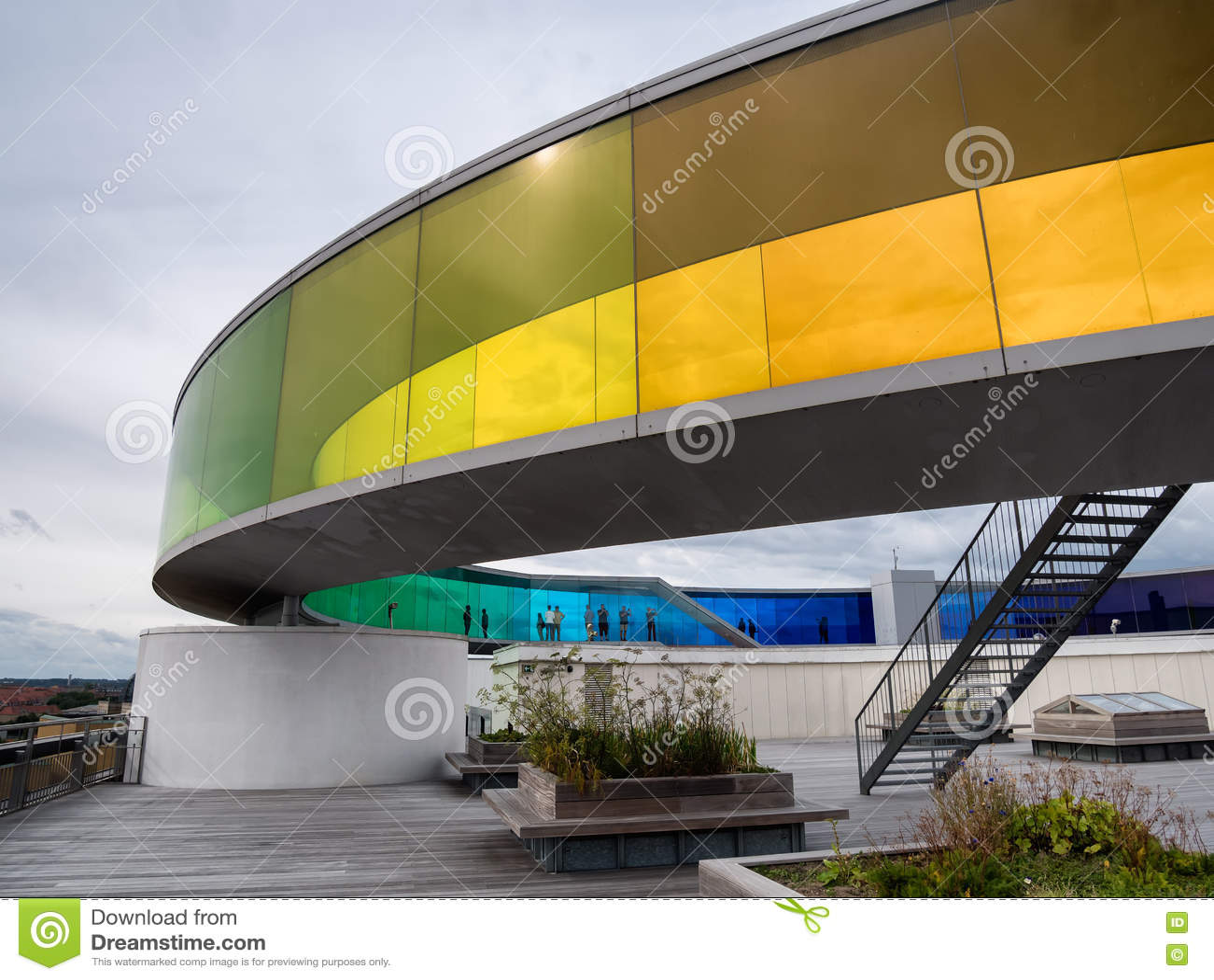Aros samtida konstmuseum Århus, Danmark