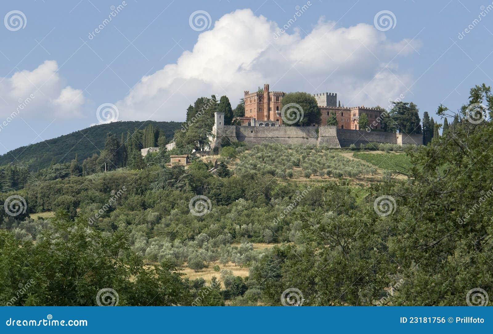 Around Castle of Brolio in Chianti
