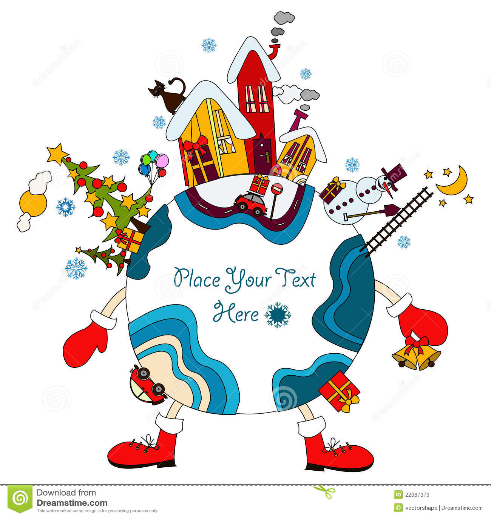Christmas Around The World Stock Image - Image: 34435931