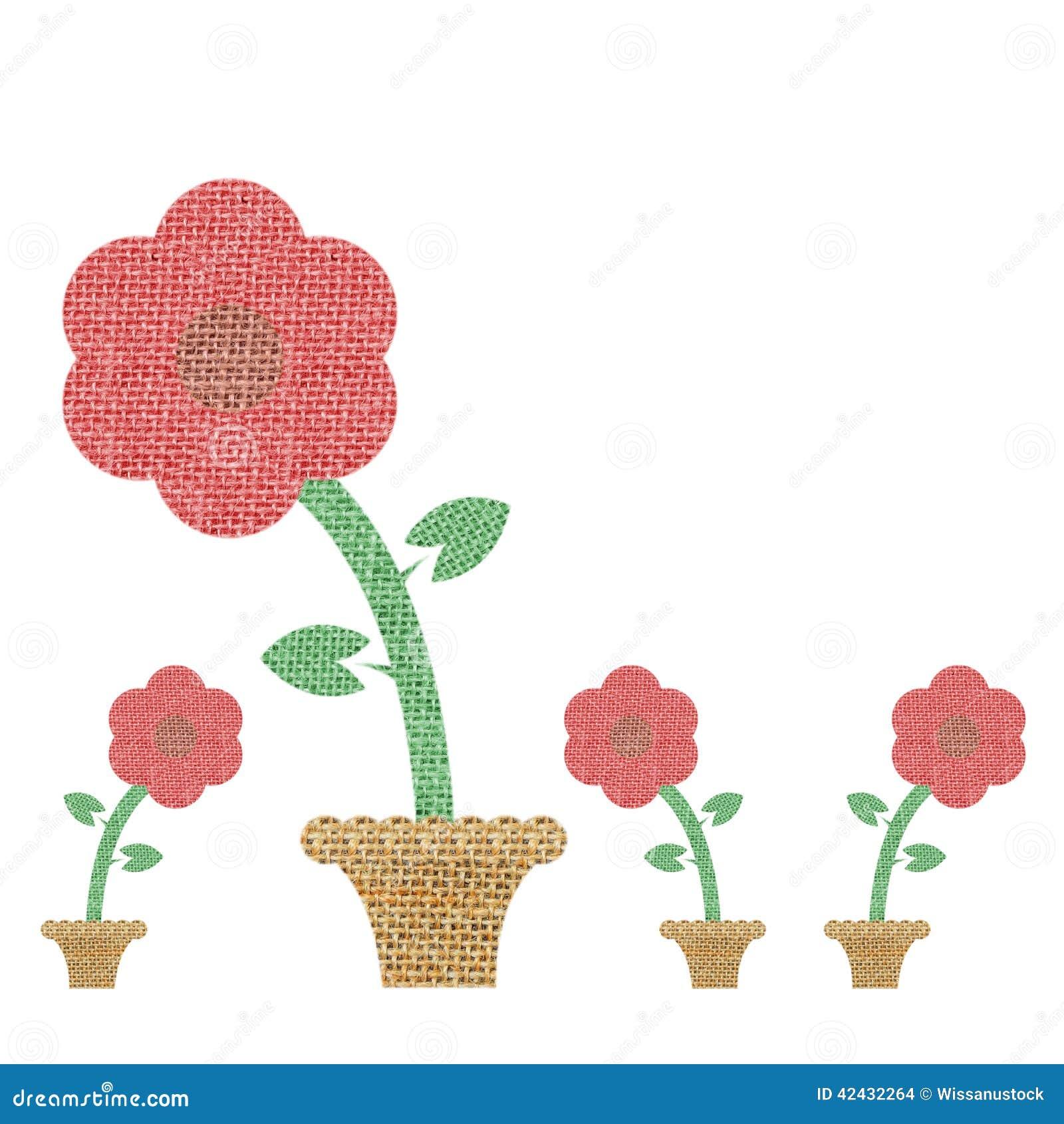 Arpillera de la flor