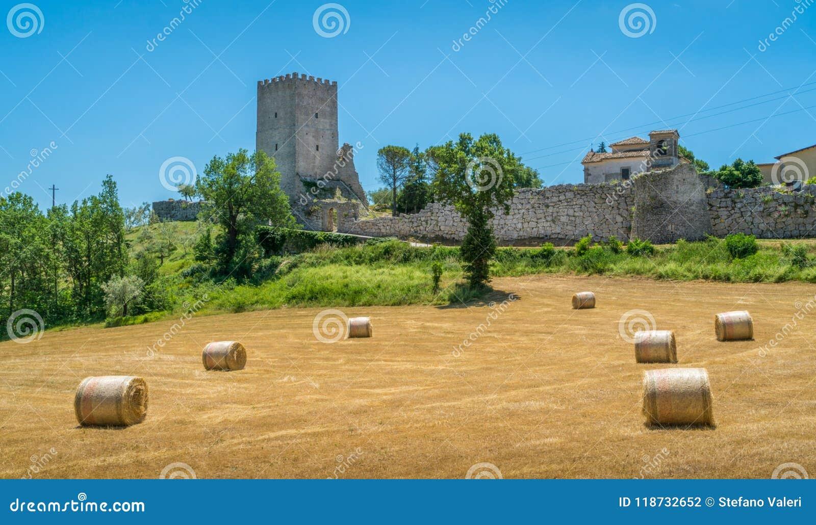 Arpino, oude stad in de provincie van Frosinone, Lazio, centraal Italië