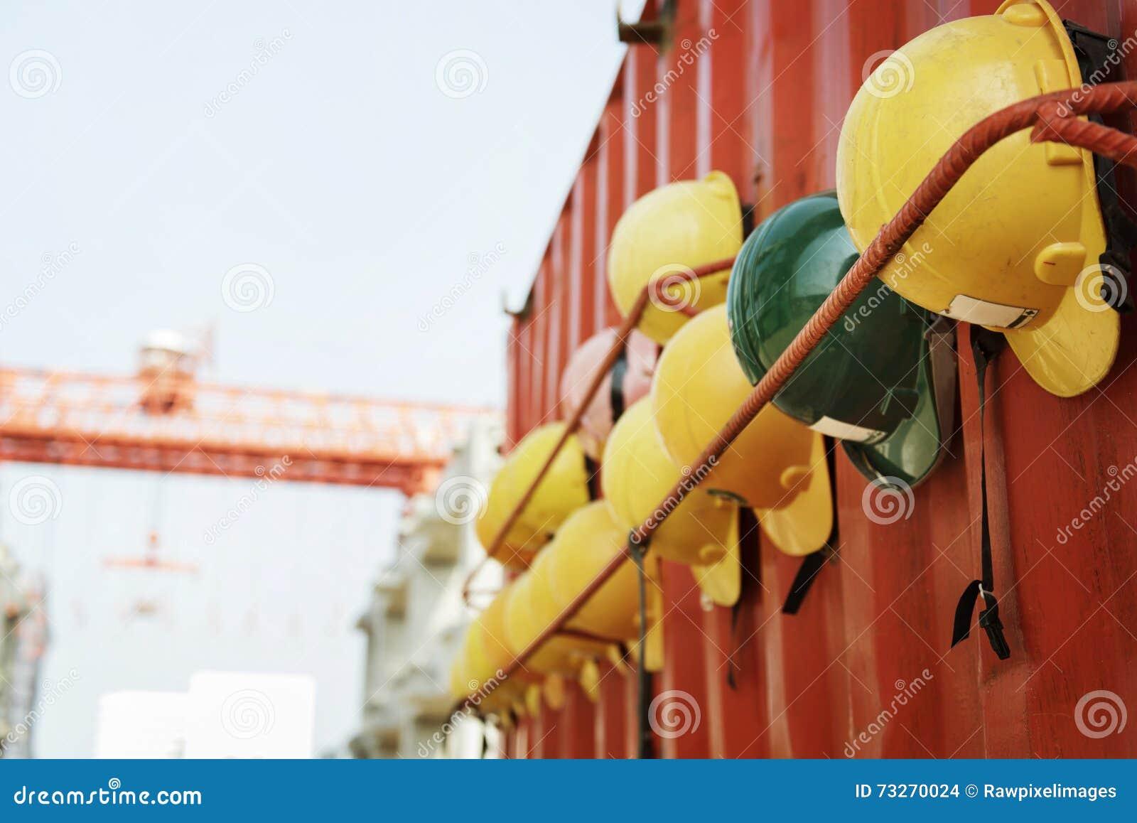 Arquitecto Plan Construction Concept de la seguridad del casco del casco de protección