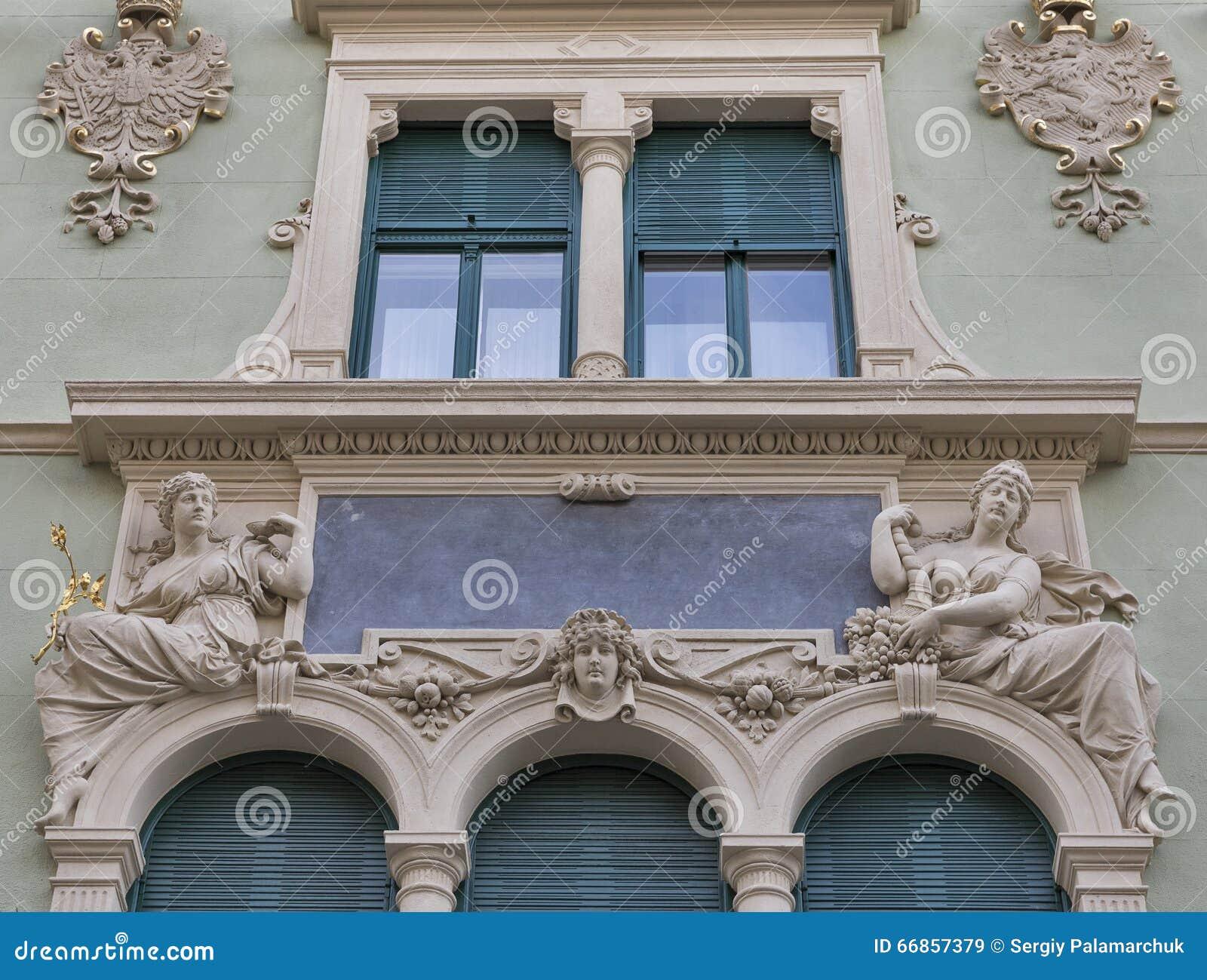 Arquitectura Antigua De Graz En Austria Imagen De Archivo Imagen
