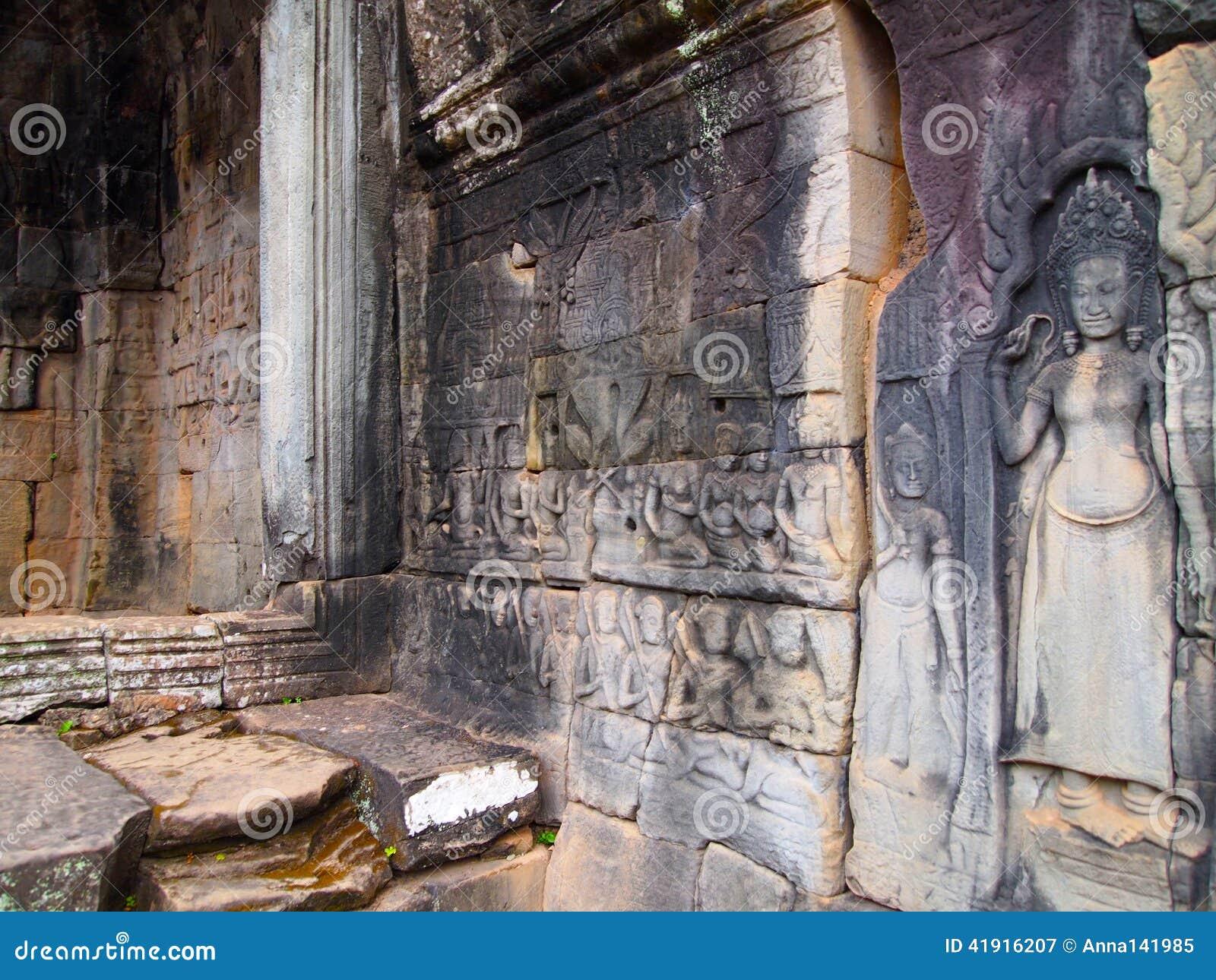 Arquitectura antigua templo de Camboya, Angkor Wat