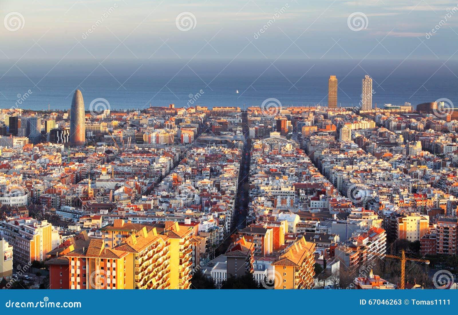 Arquitectura da cidade de Barcelona, Spain