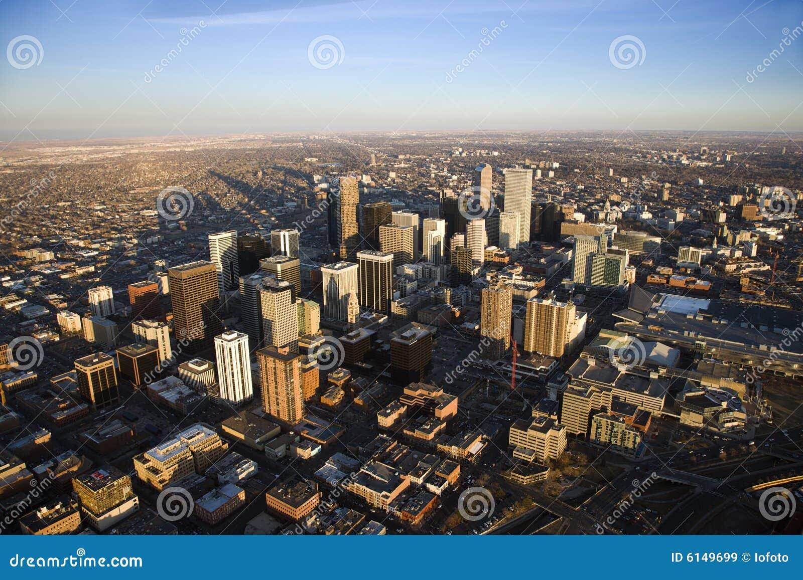 Arquitectura da cidade de Denver, Colorado, EUA.