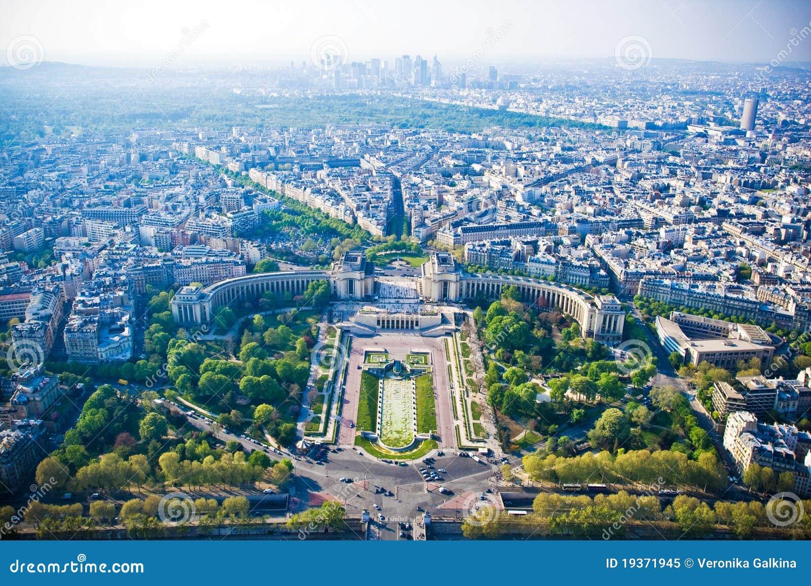 Arquitectura da cidade de Paris da torre Eiffel