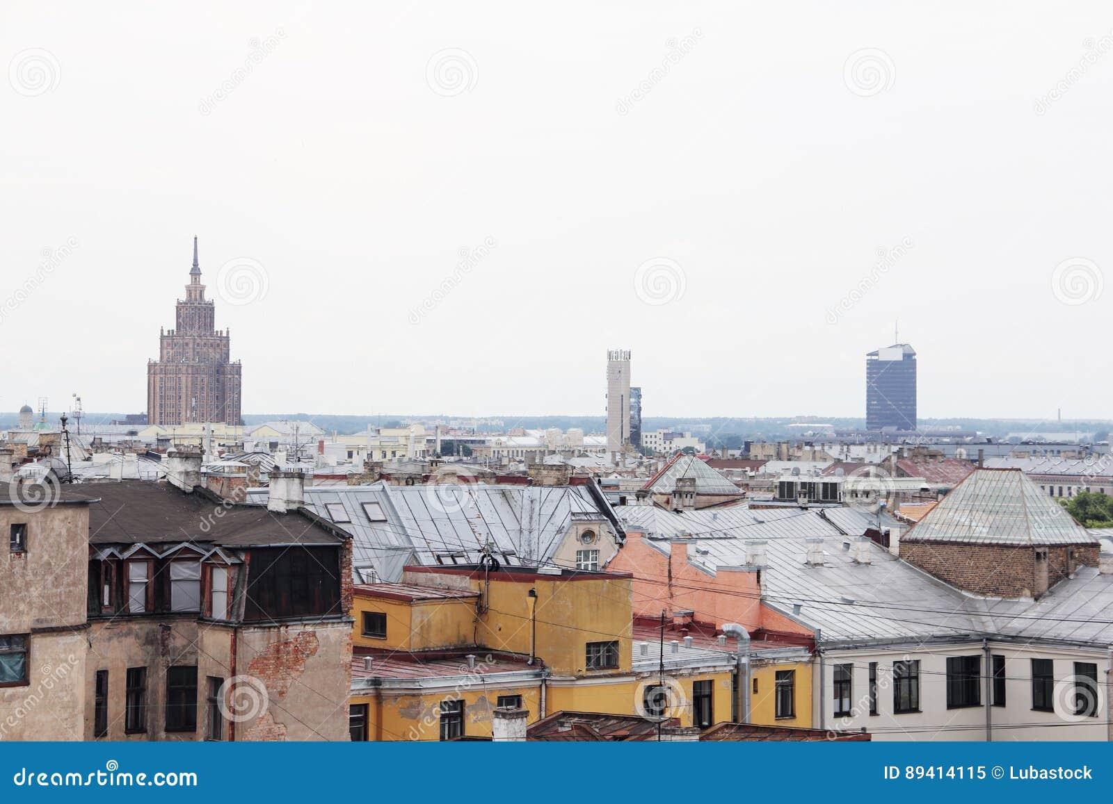 Arquitectura da cidade de Riga, Latvia