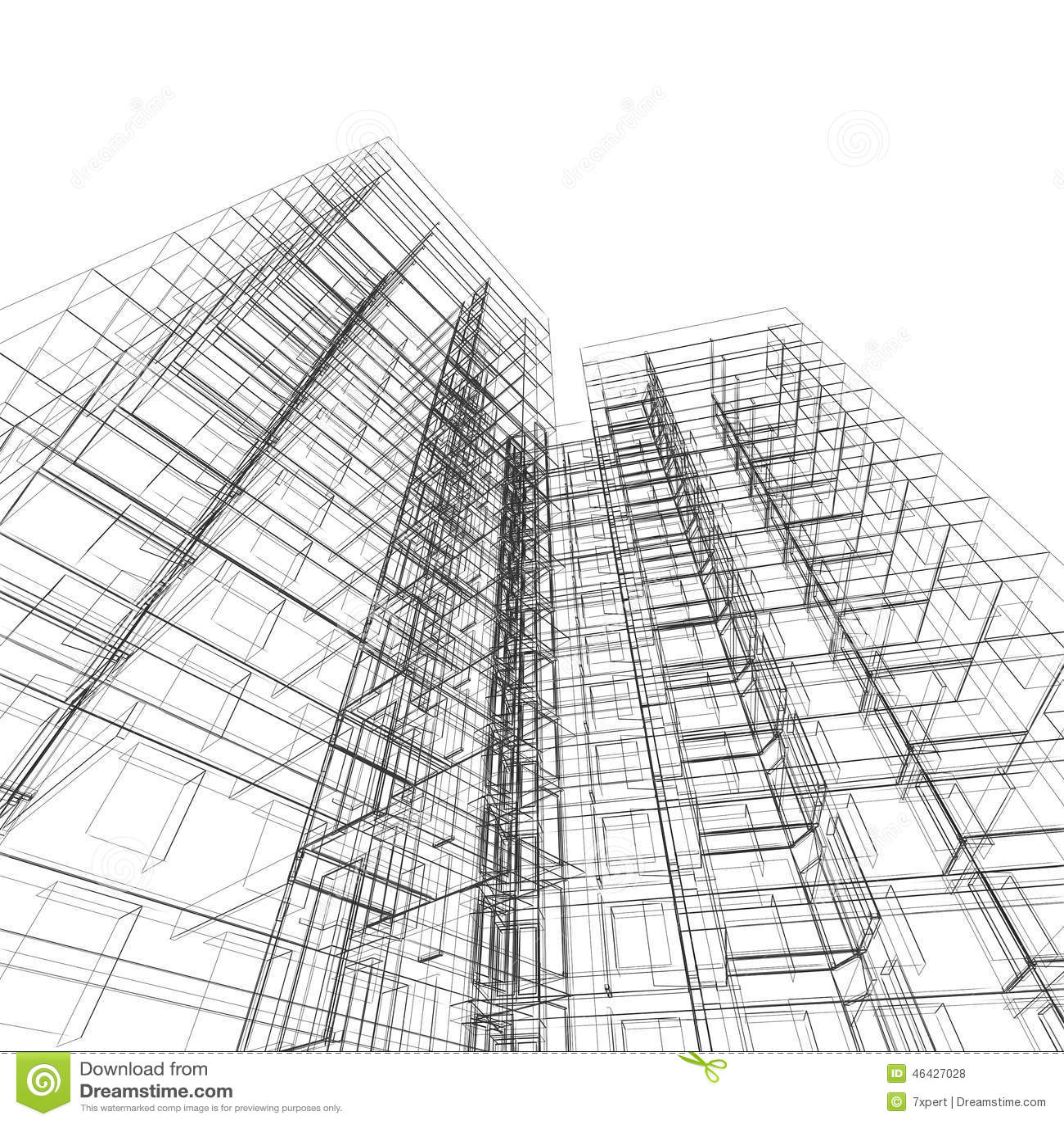 Arquitectura de la construcci n stock de ilustraci n for Arquitectura diseno y construccion