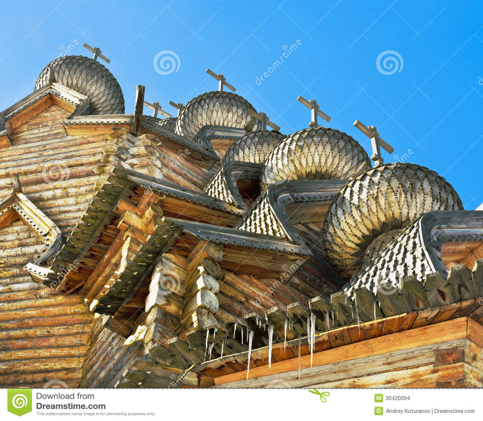 Arquitectura de madera rusa imagenes de archivo imagen for Arquitectura de madera
