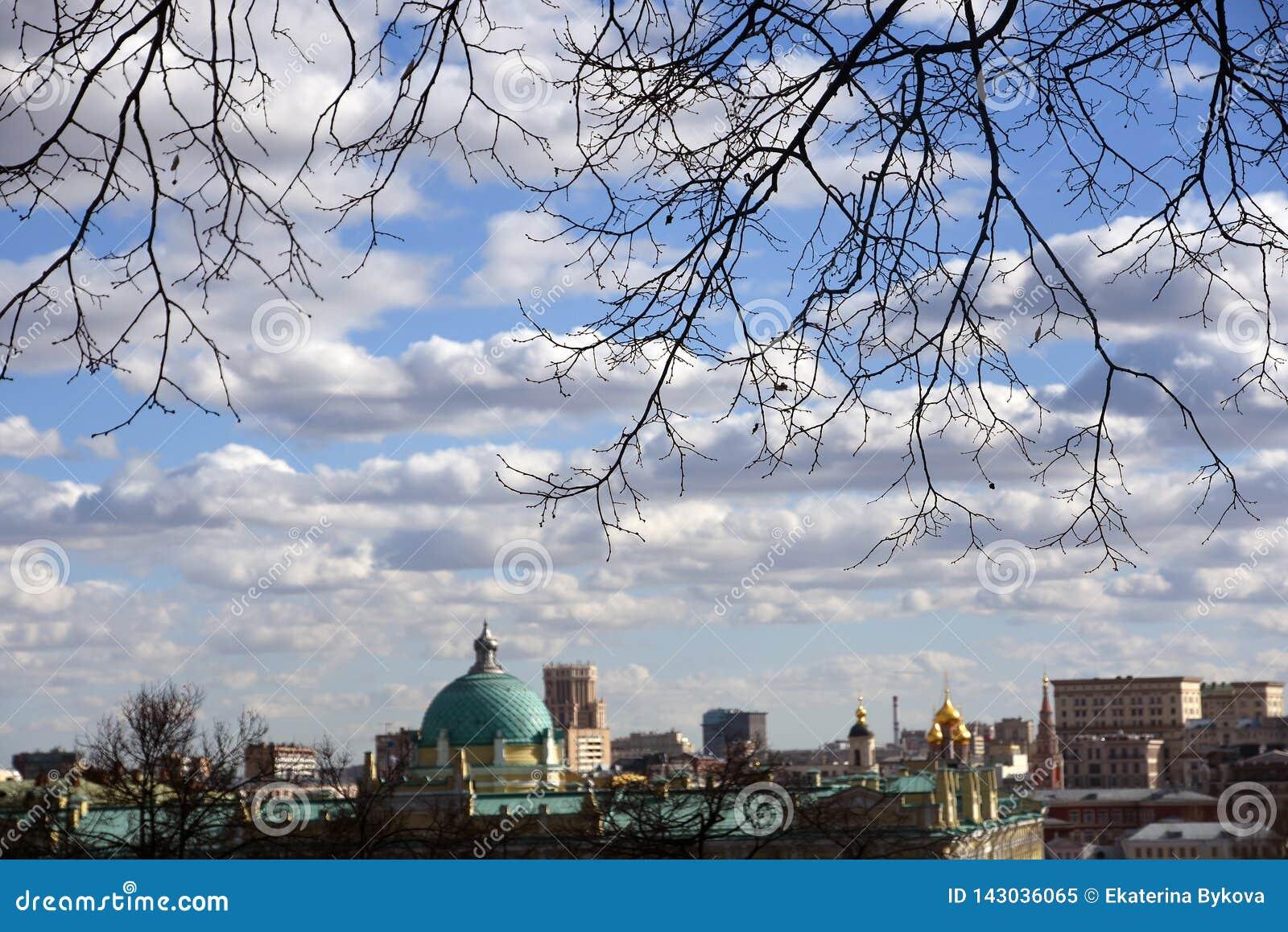 Arquitectura del centro histórico de la ciudad de Moscú