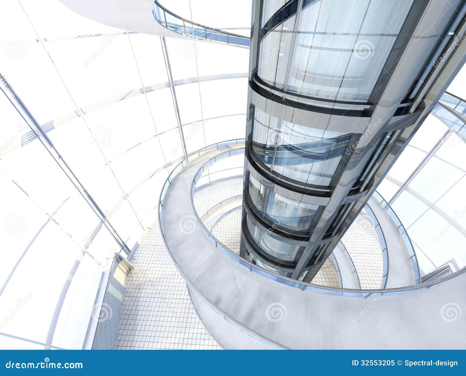 Arquitectura Futurista Foto De Archivo Libre De Regal As