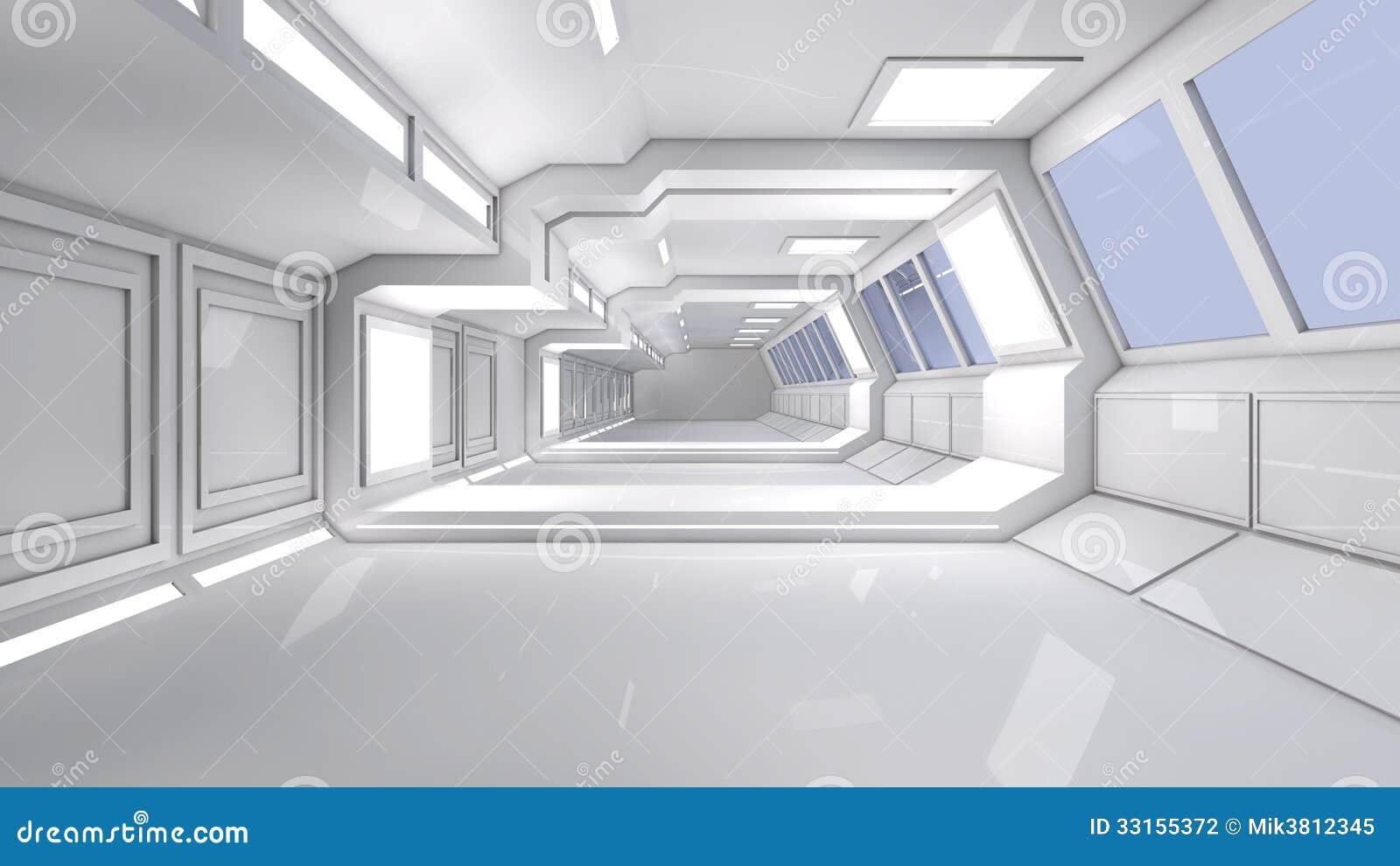Arquitectura Futurista 3d Fotograf A De Archivo Imagen