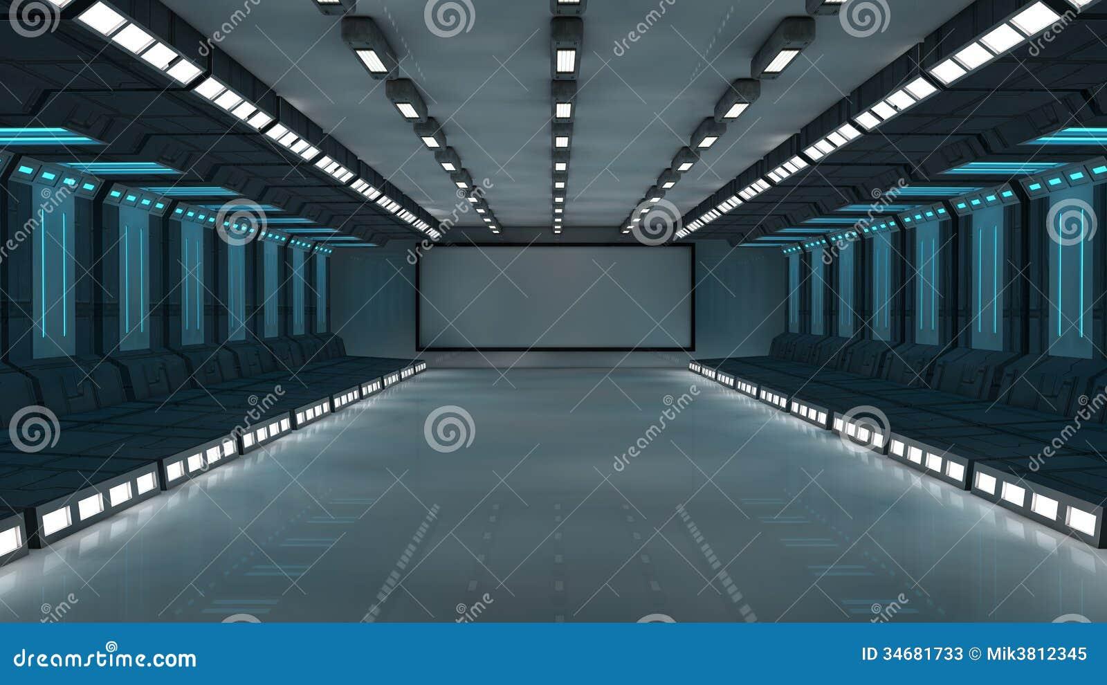 Arquitectura Futurista 3d Fotos De Archivo Imagen 34681733