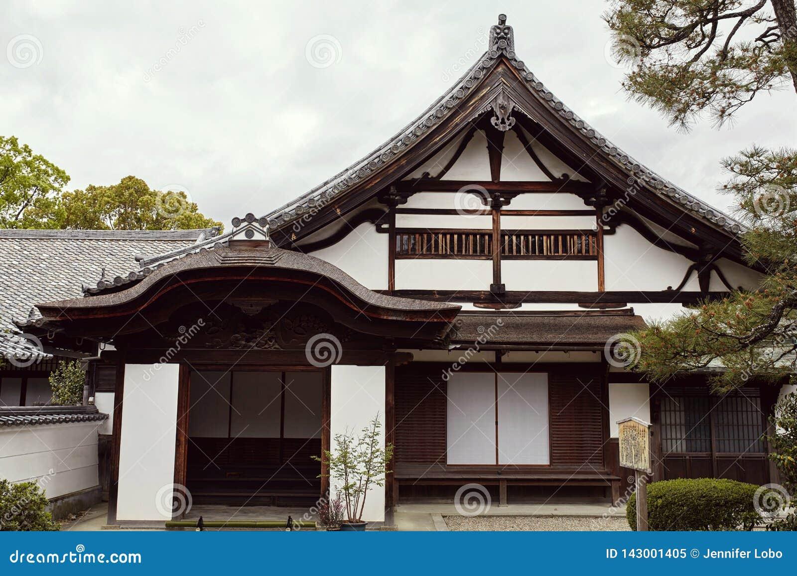 Arquitectura japonesa tradicional en el complejo de Byodoin