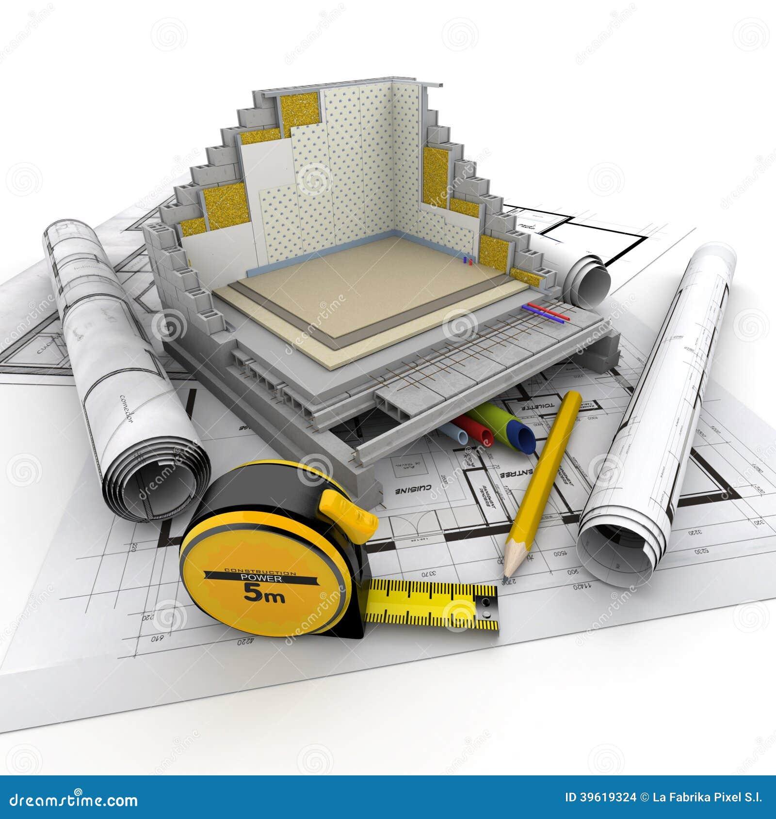 Arquitectura t cnica stock de ilustraci n imagen 39619324 for Arquitectura tecnica a distancia