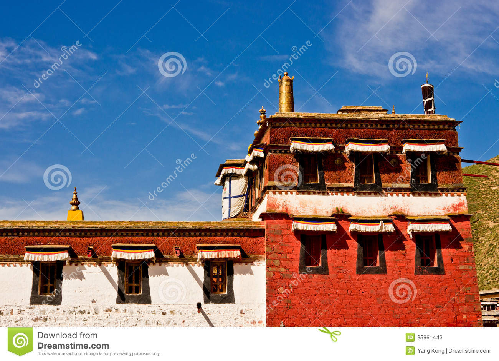 Arquitectura tibetana, Labrang Lamasery
