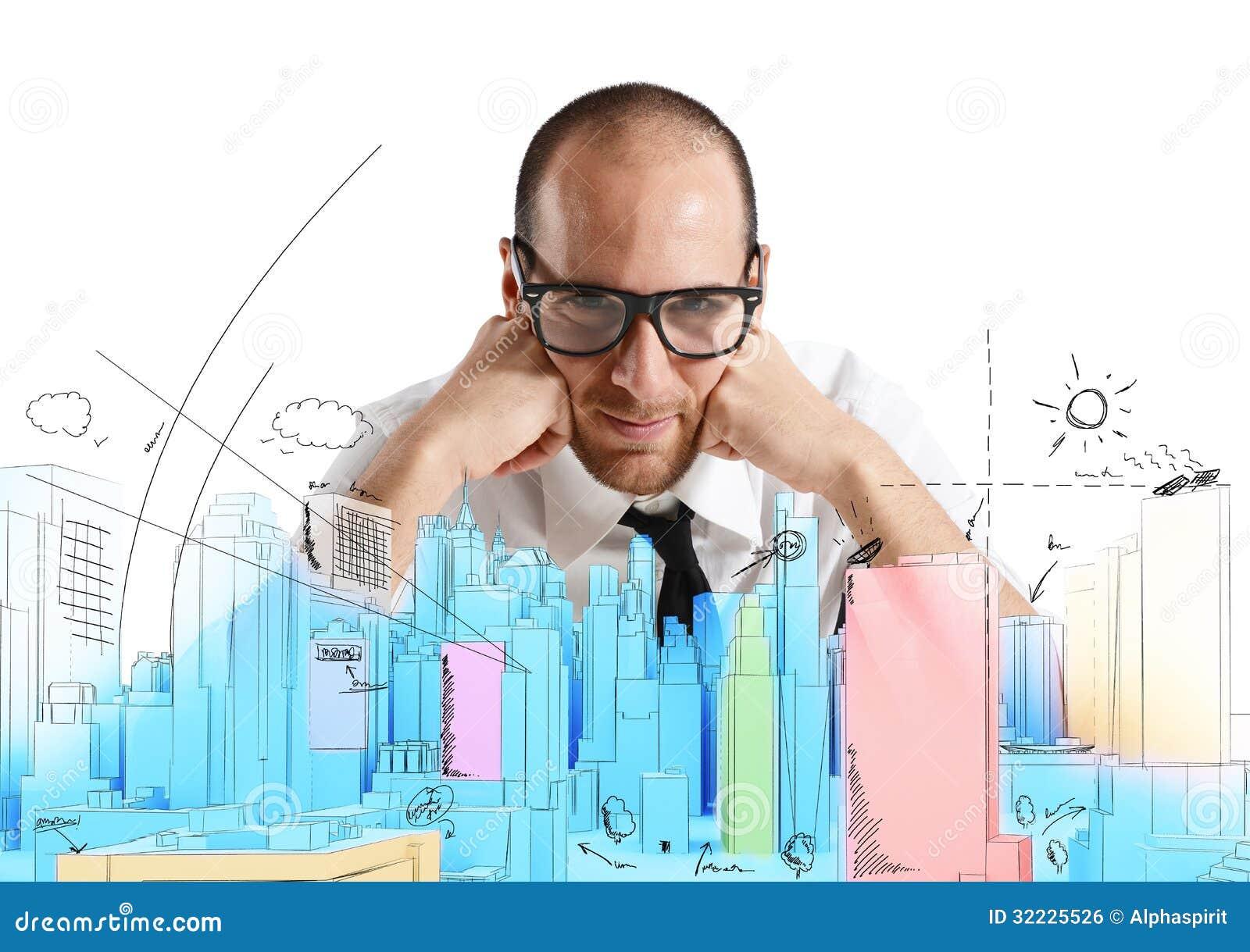 Download Arquiteto e projeto novo foto de stock. Imagem de coordenador - 32225526
