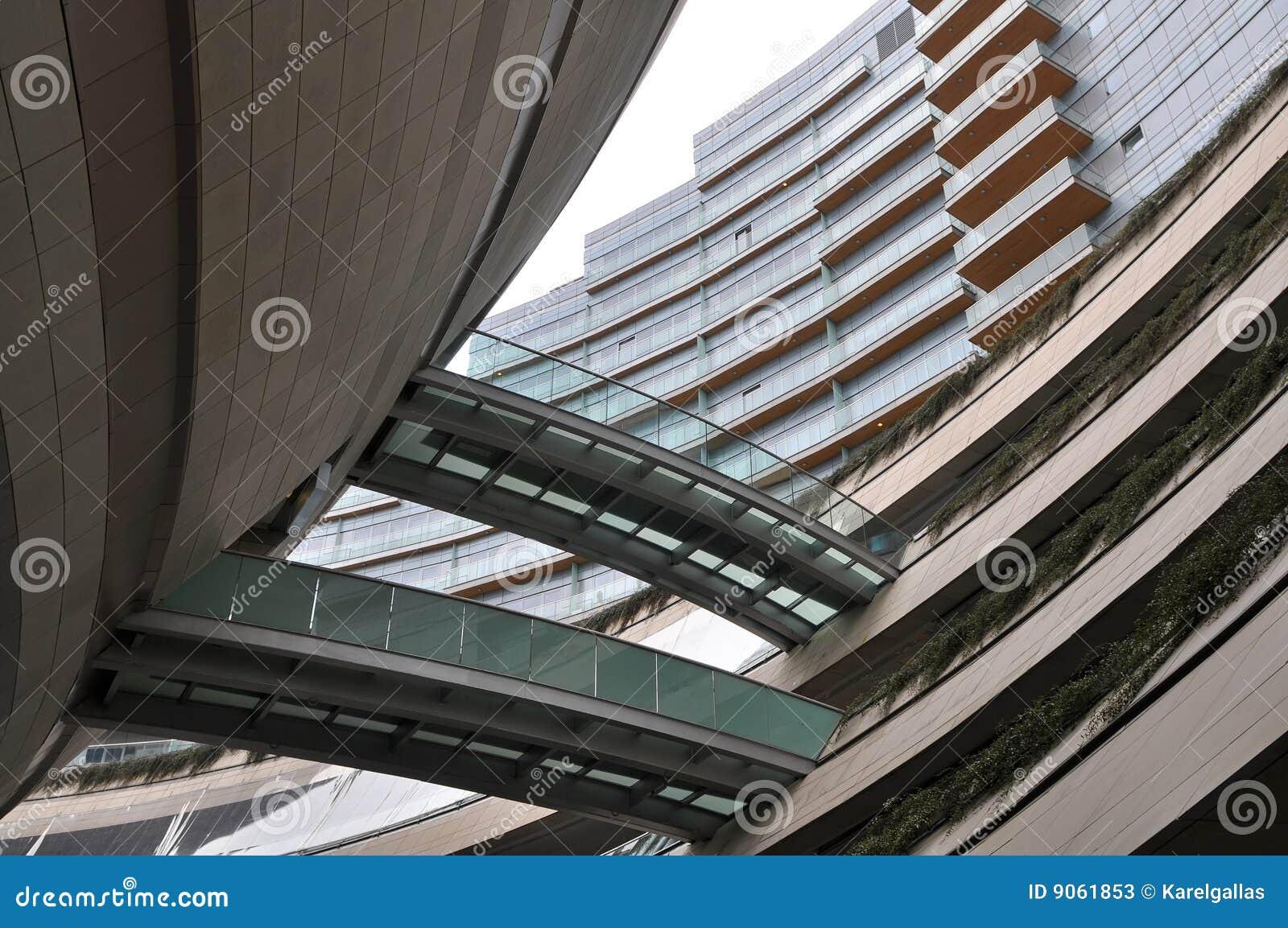 Arquitetura concreta moderna