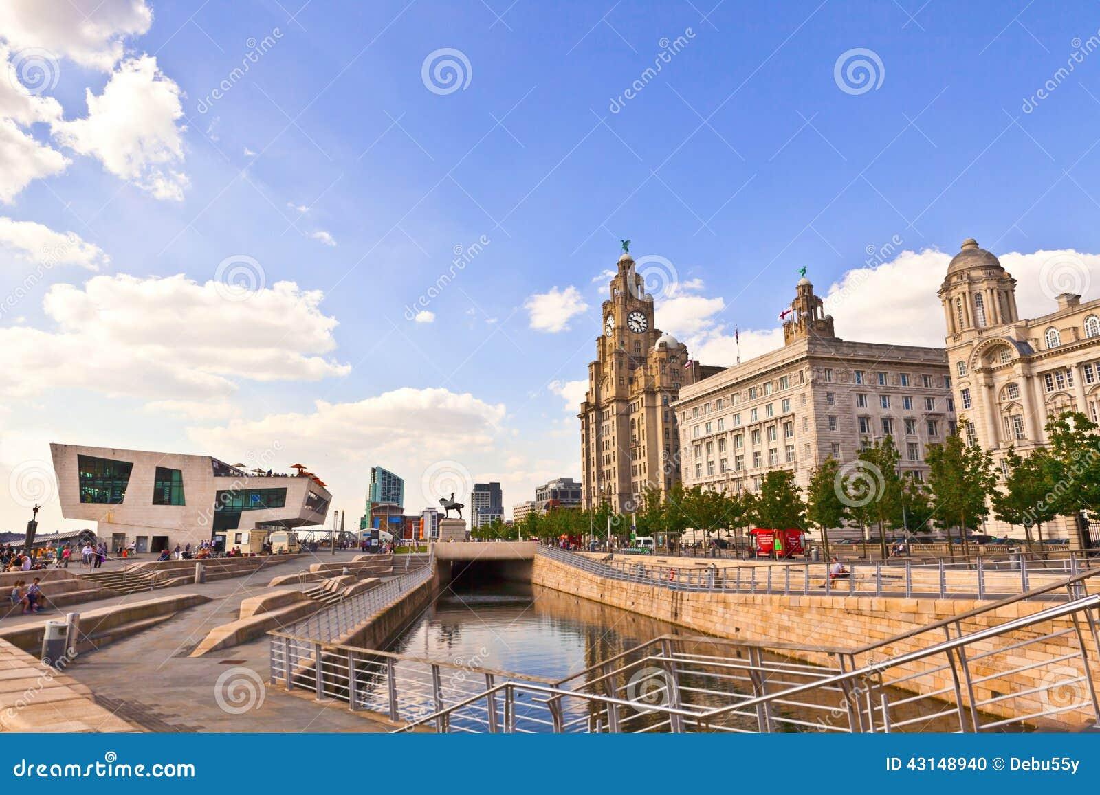 Arquitetura Da Cidade De Liverpool Reino Unido Imagem Editorial Imagem De Reino Liverpool 43148940