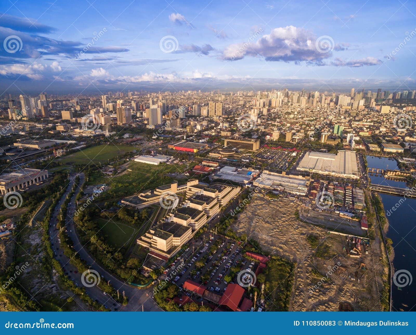 Arquitetura da cidade de Manila filipinas Arquitectura da cidade bonita