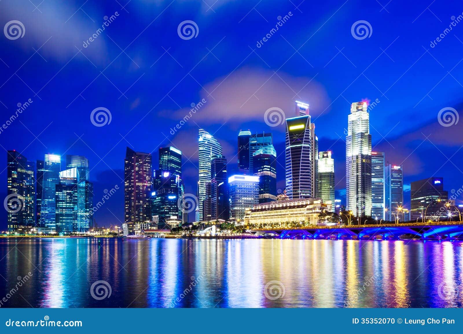 Arquitetura da cidade urbana em Singapura