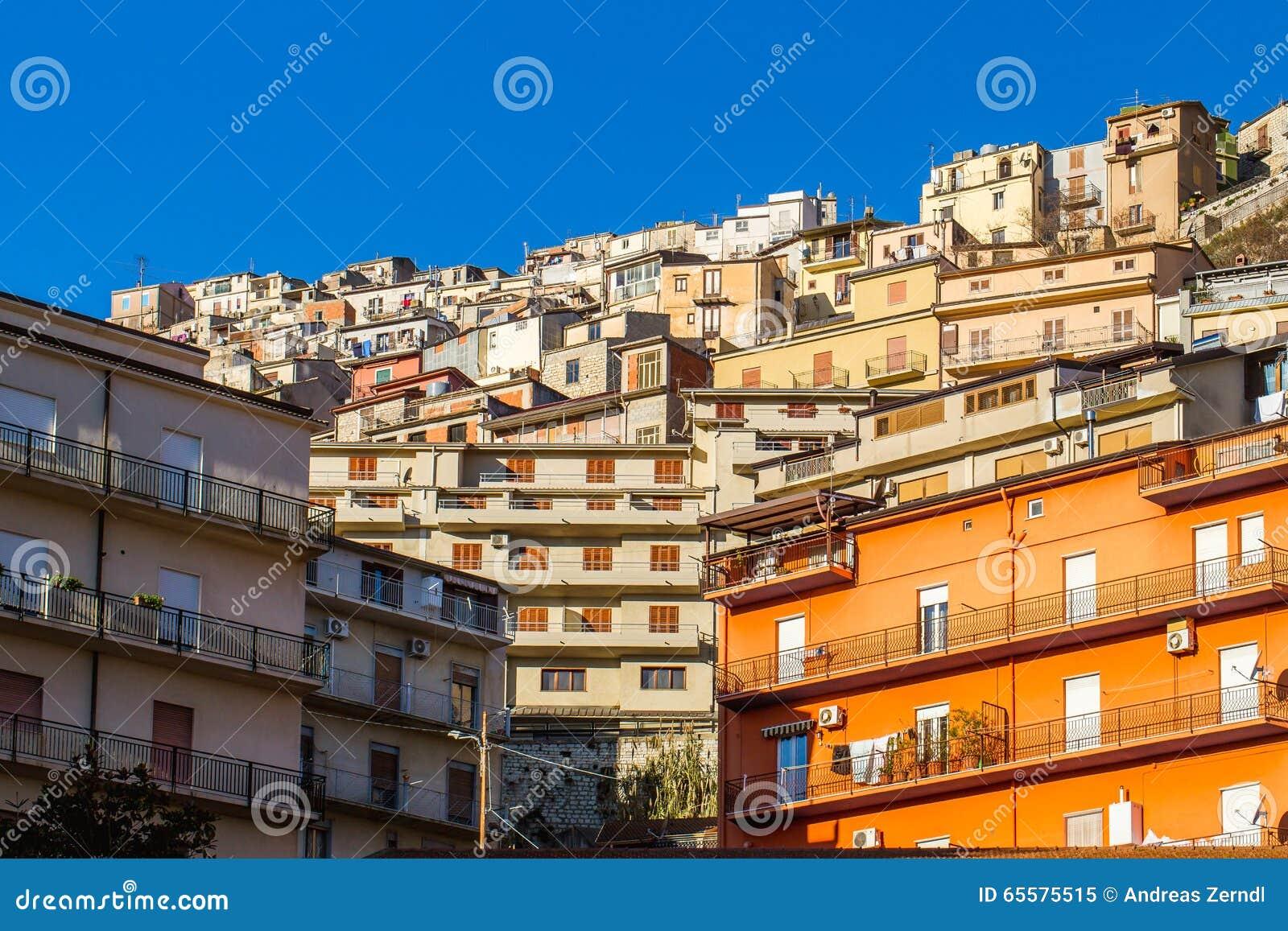 Arquitetura de Cammarata, Sicília, Itália