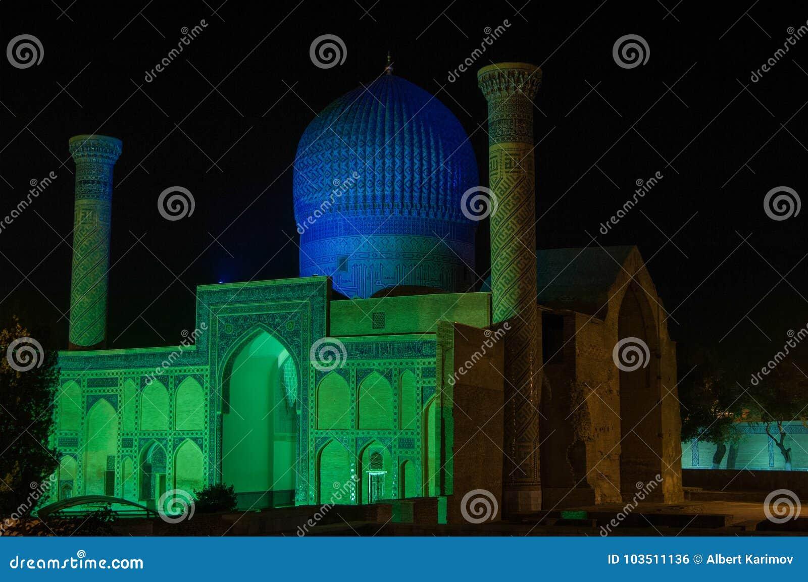 A arquitetura de Samarkand antigo