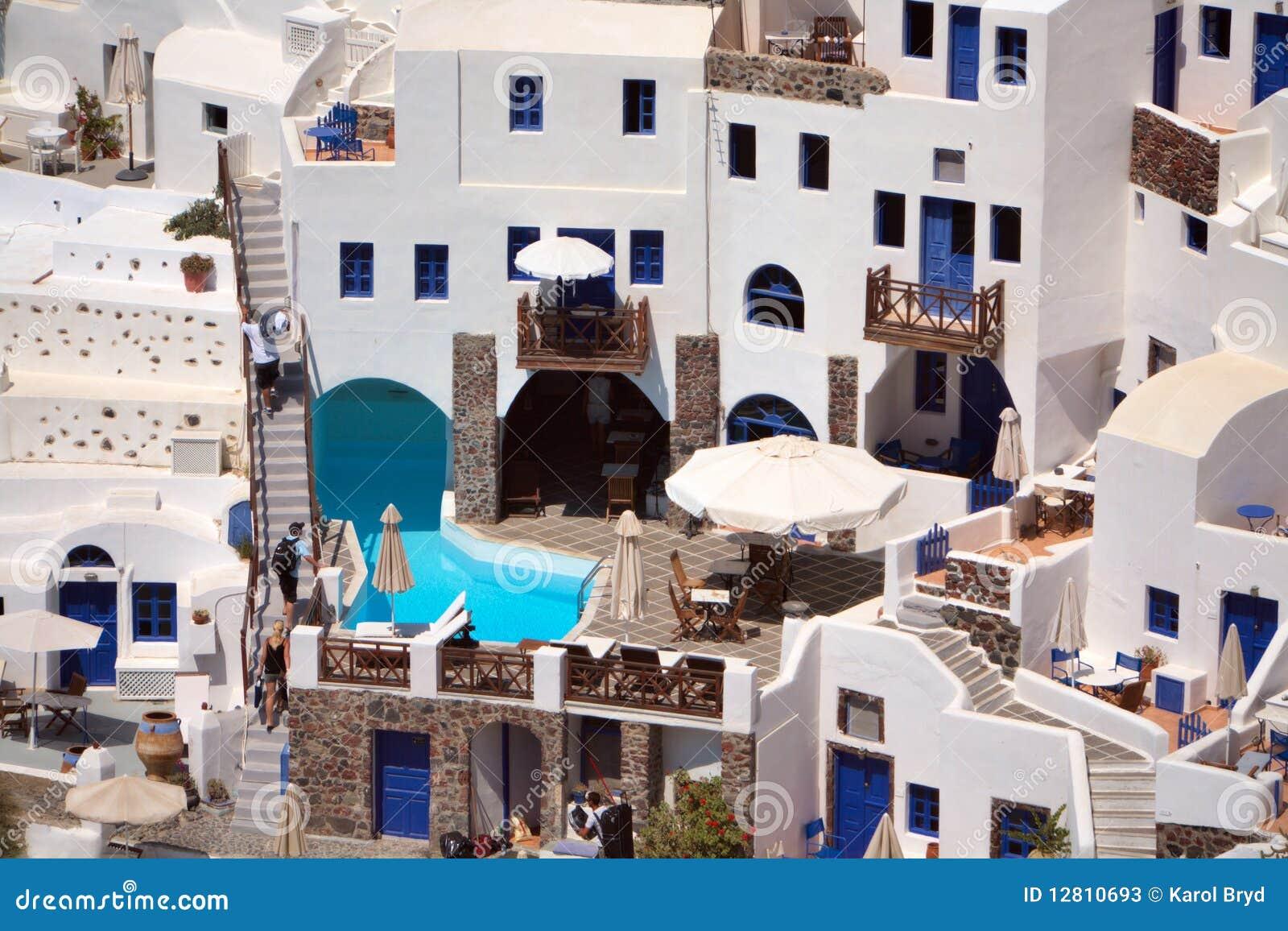 Arquitetura de Santorini.