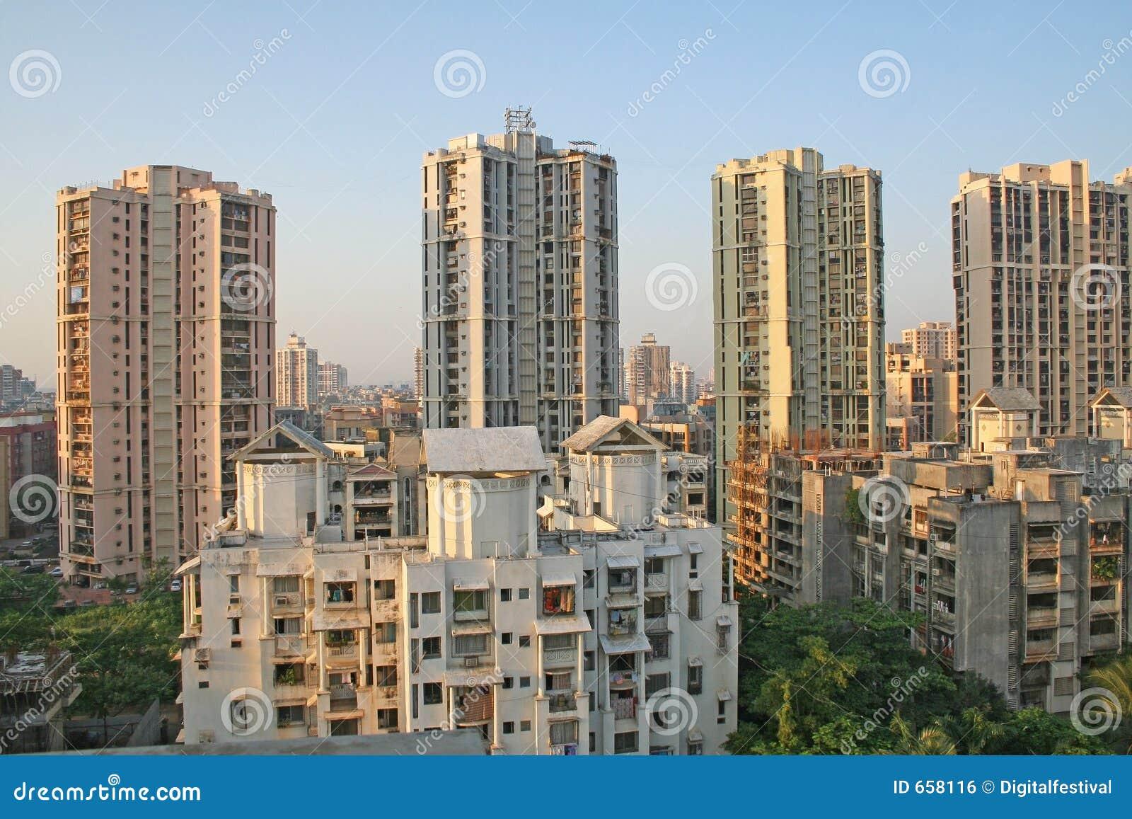 Arquitetura do arranha-céus e do highrise