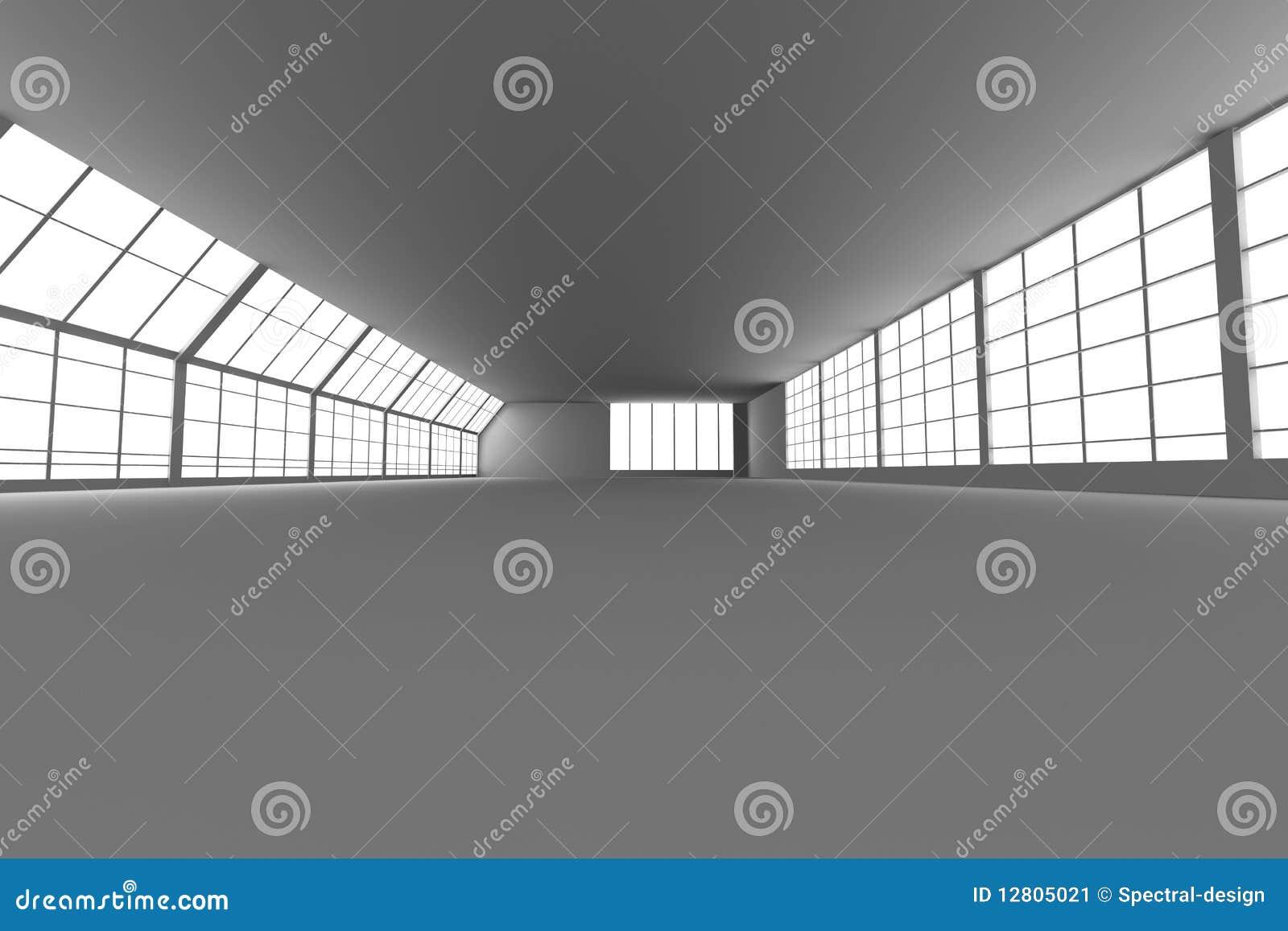 Arquitetura do corredor