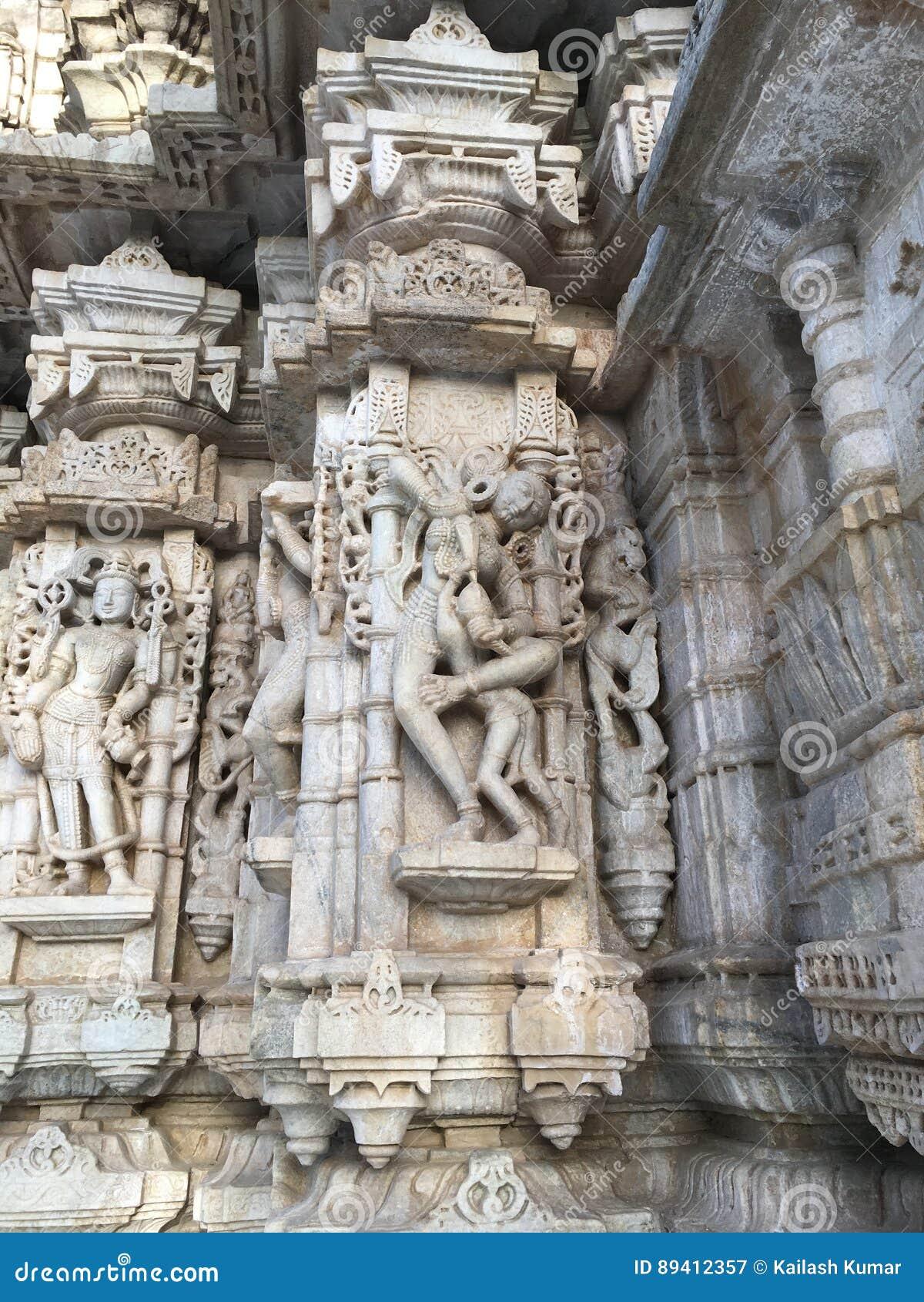 Arquitetura indiana do vintage
