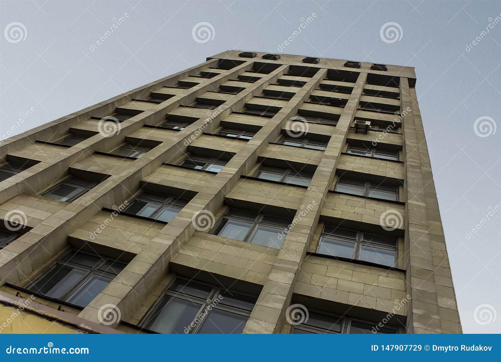 Arquitetura soviética contra o céu