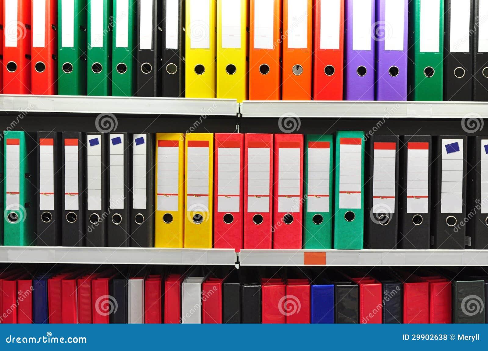 Dobradores de papel do arquivo