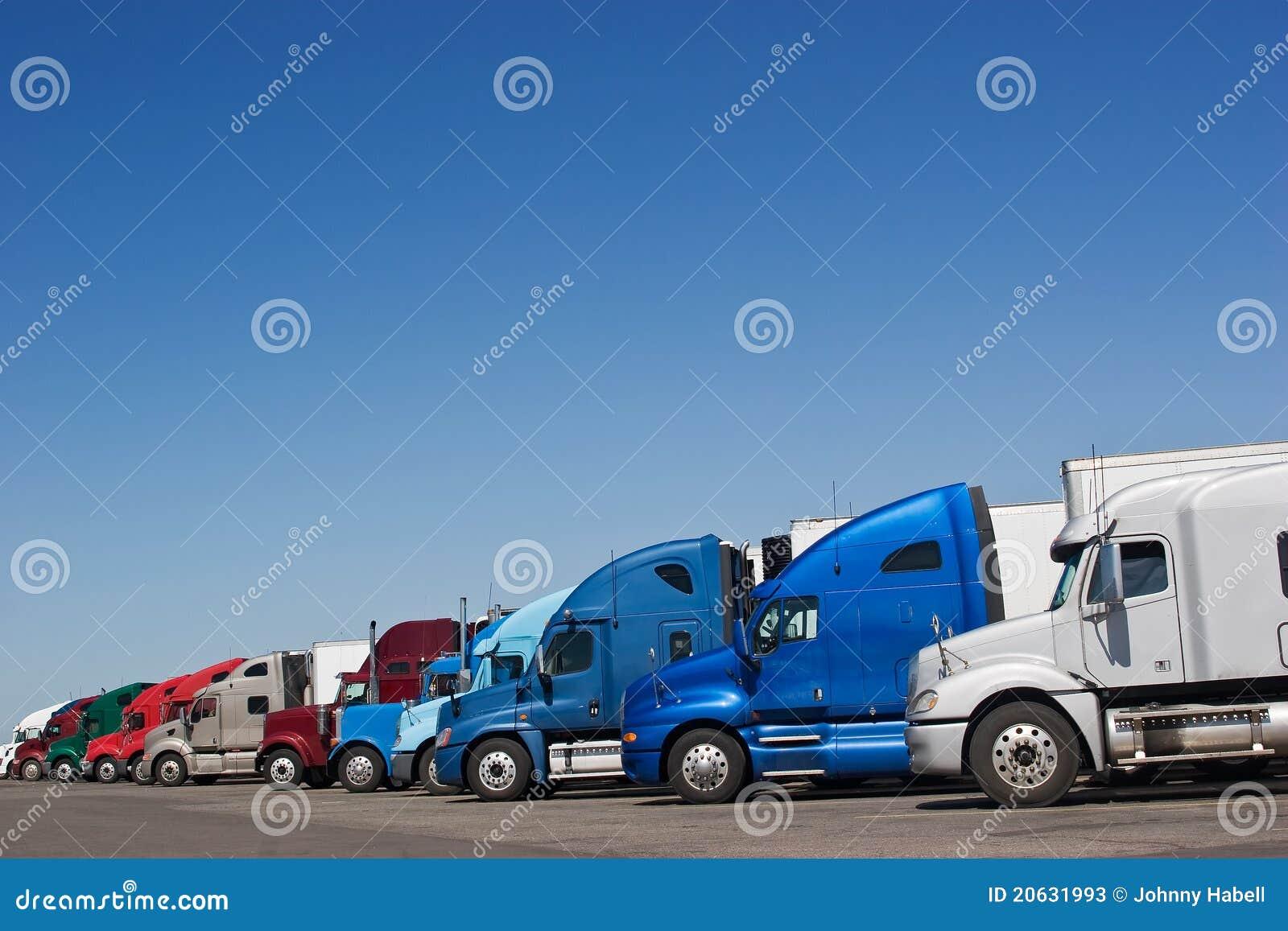 Arrêt de camion