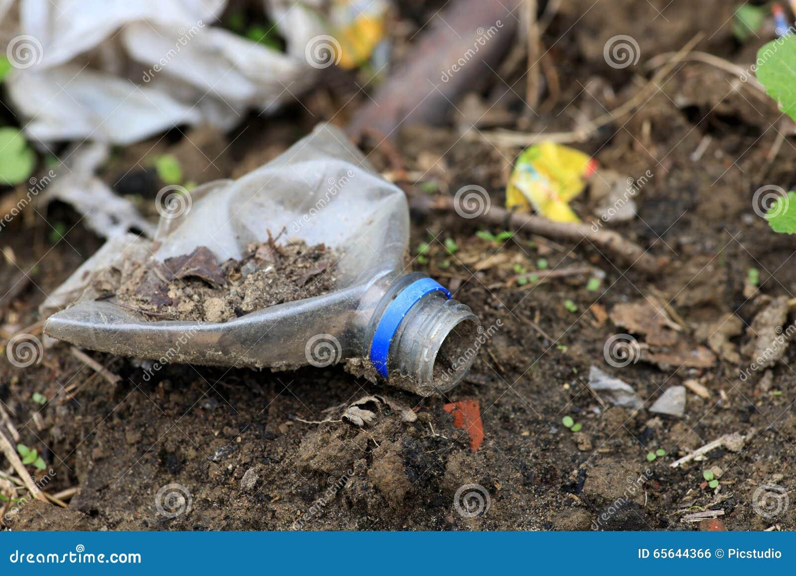 Arrêtez la pollution du sol