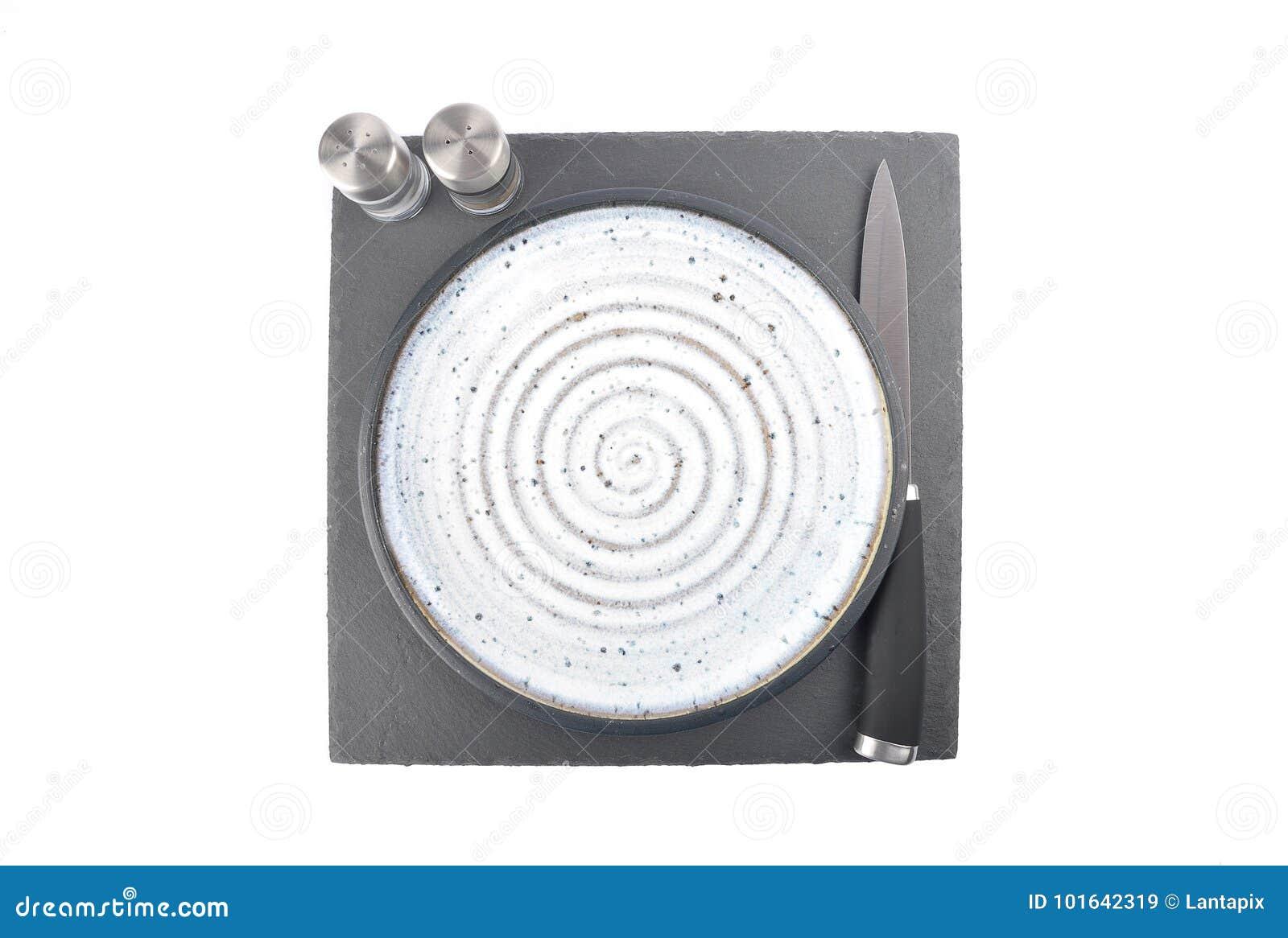 Arrangement de Tableau avec le poivre et le sel d isolement