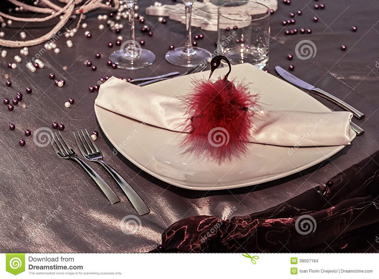 Arrangement for festive dinners - 5