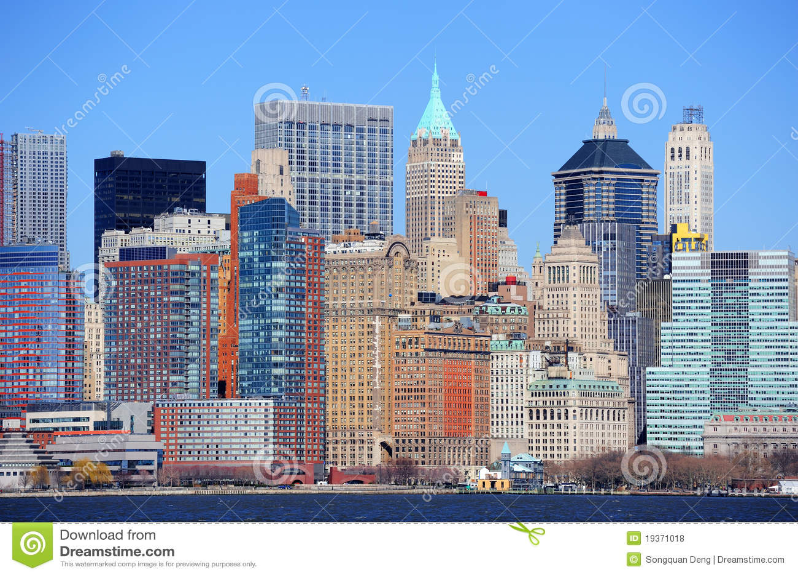 Arranha-céus de New York City Manhattan