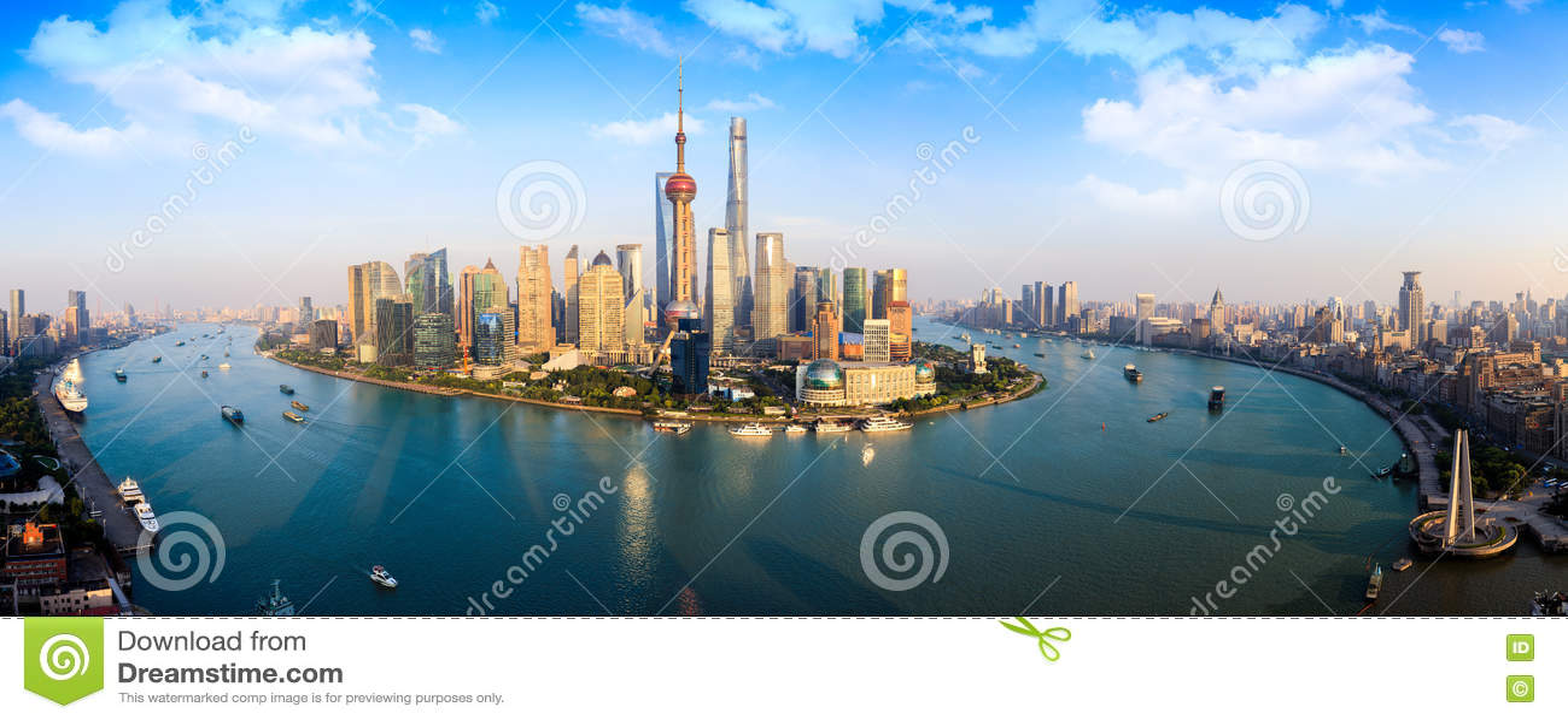 Arranha-céus de Shanghai Lujiazui CBD