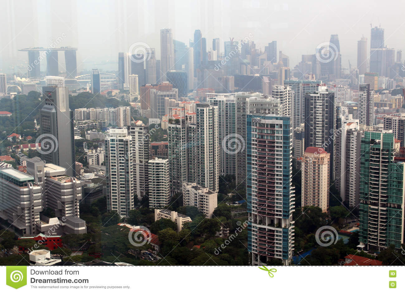 Arranha-céus de Singapura