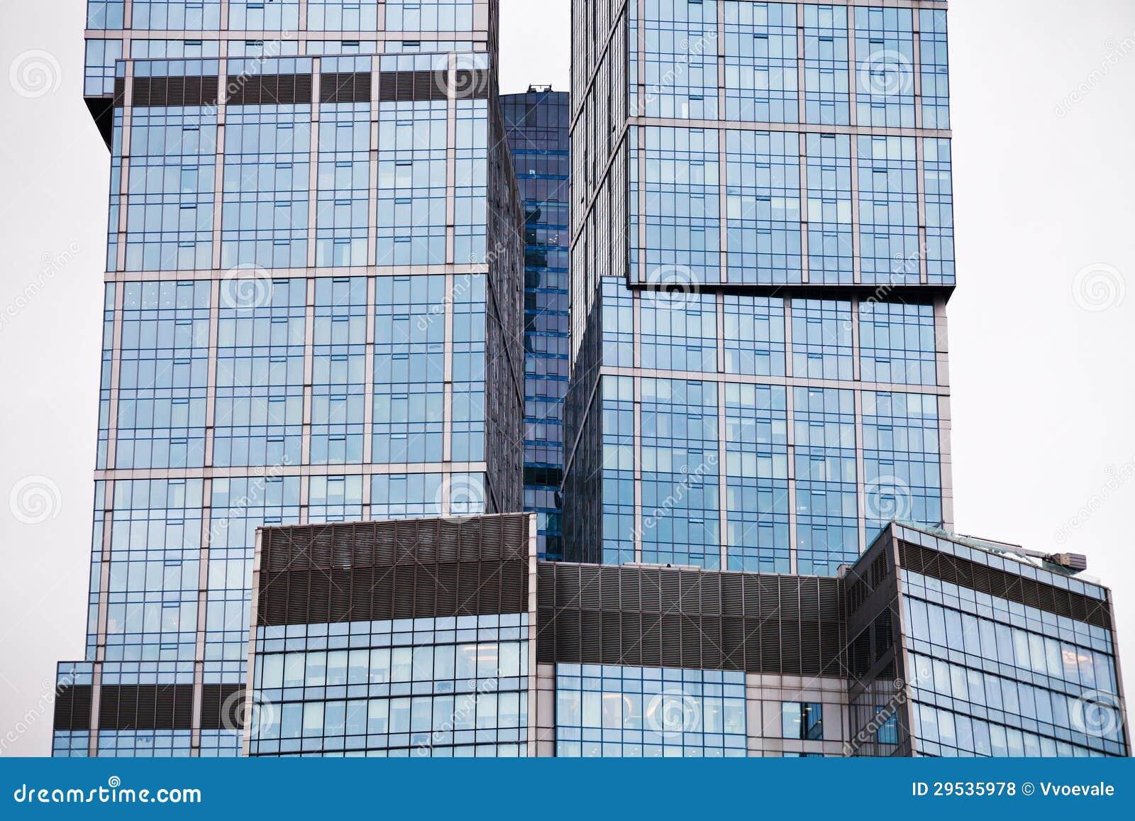 Arranha-céus de vidro moderno