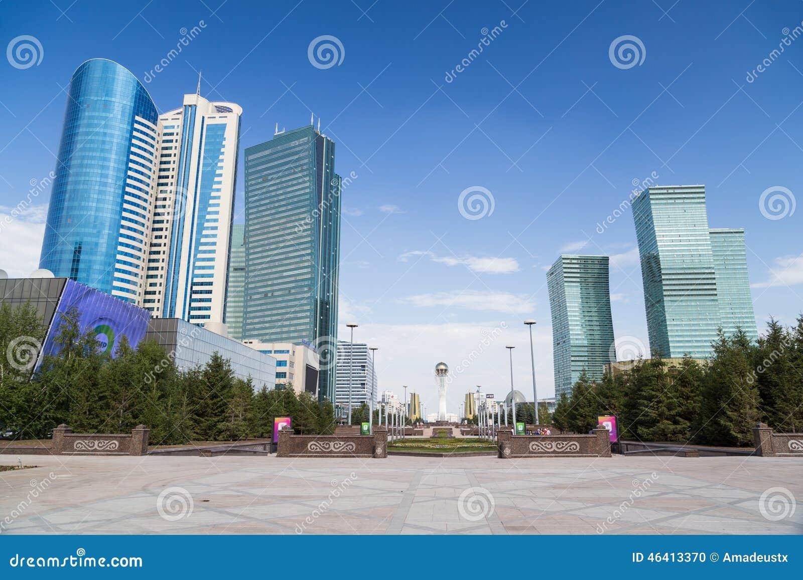 Arranha-céus em Astana, Cazaquistão