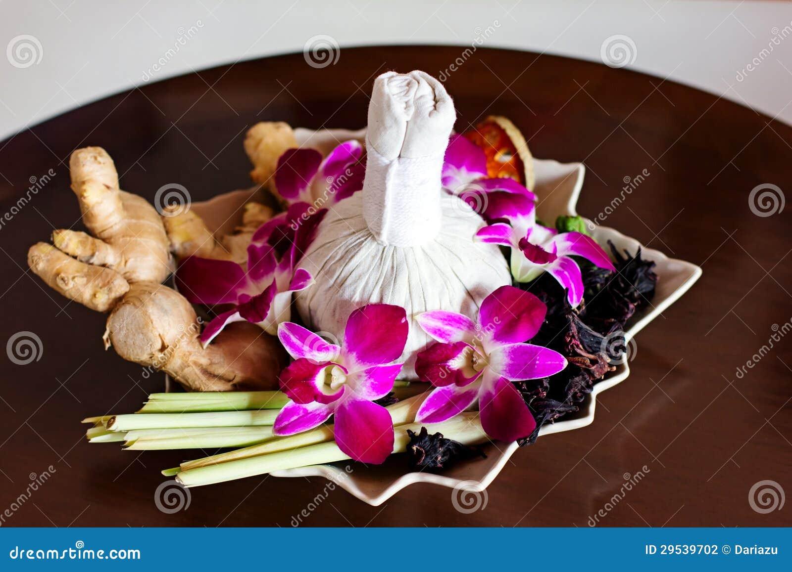 Arranjo tailandês dos termas
