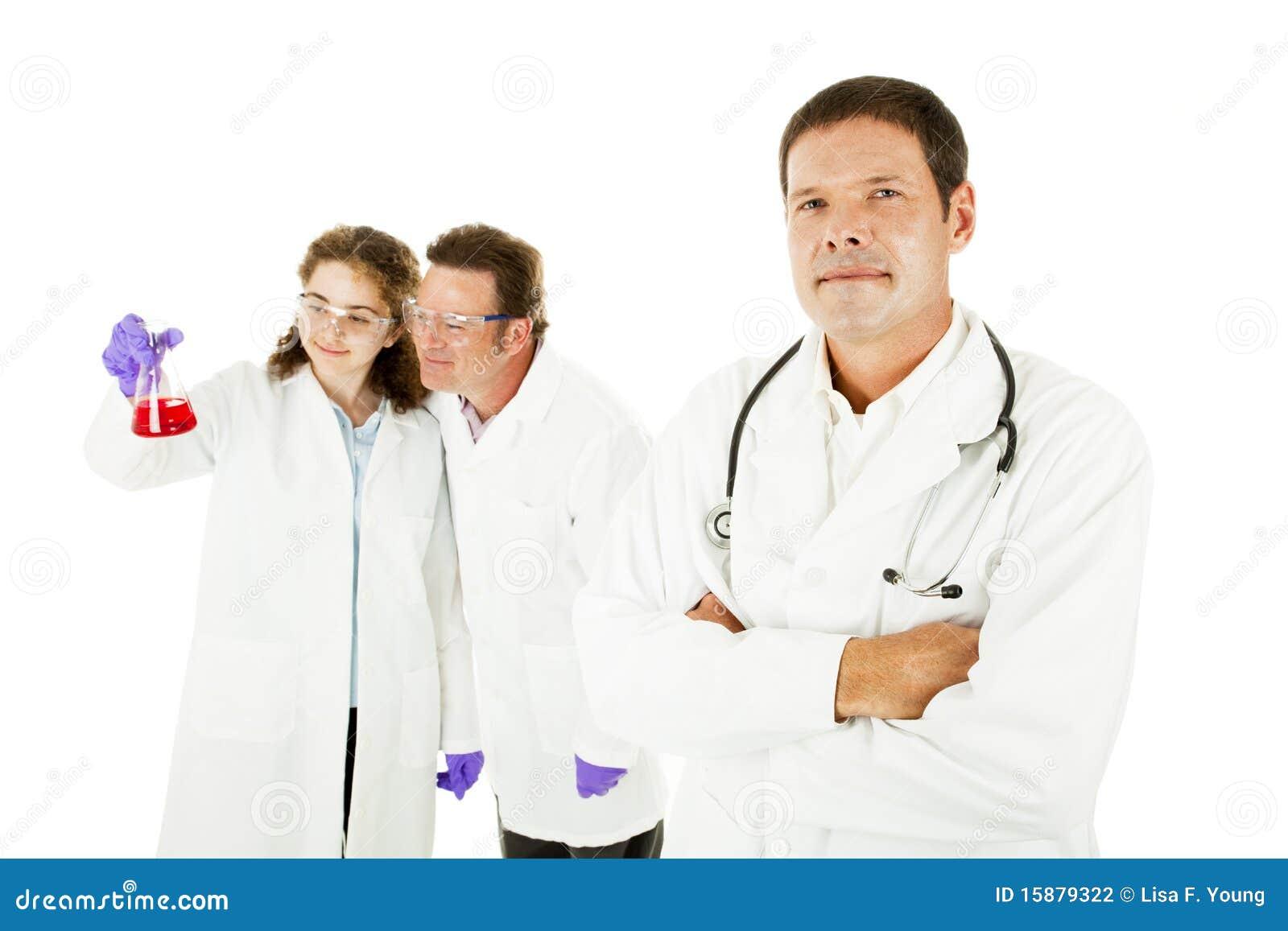 Arranque de cinta de personas médicas
