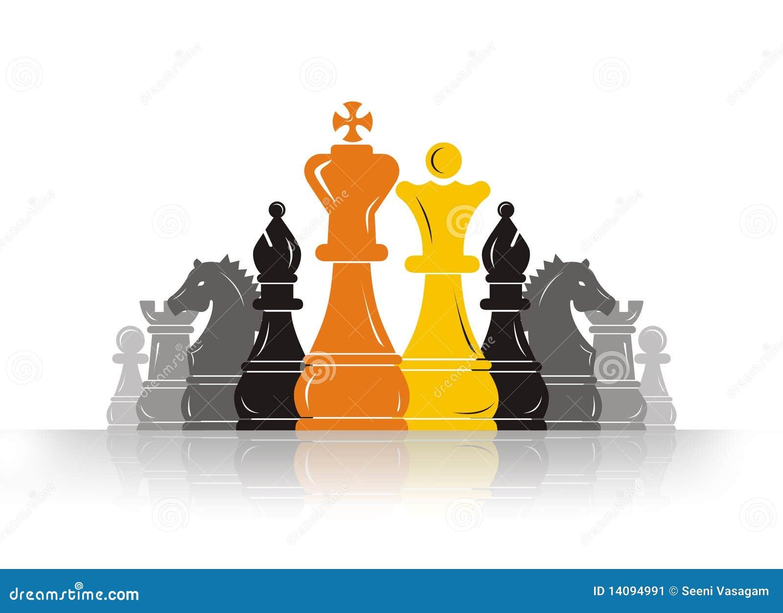 Arranque de cinta del empeño del ajedrez