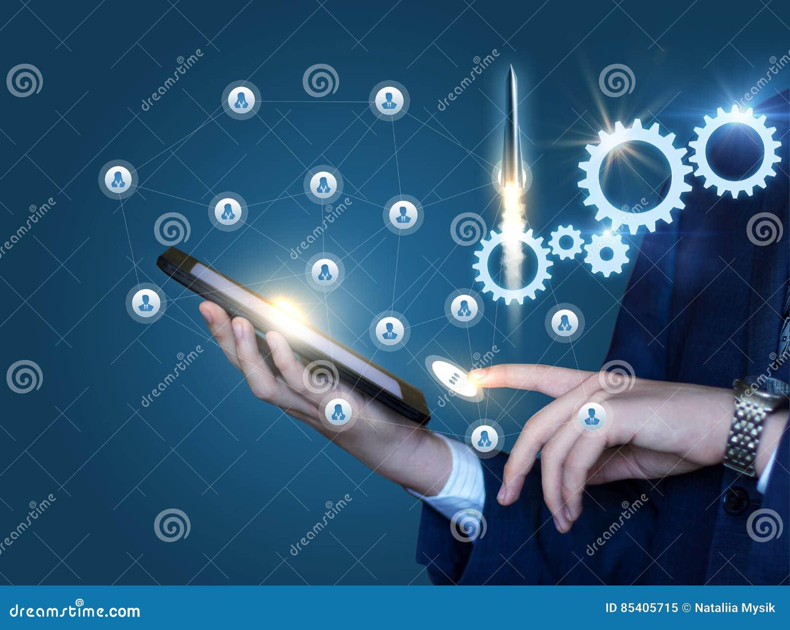 Arranque de tecnologías innovadoras en negocio