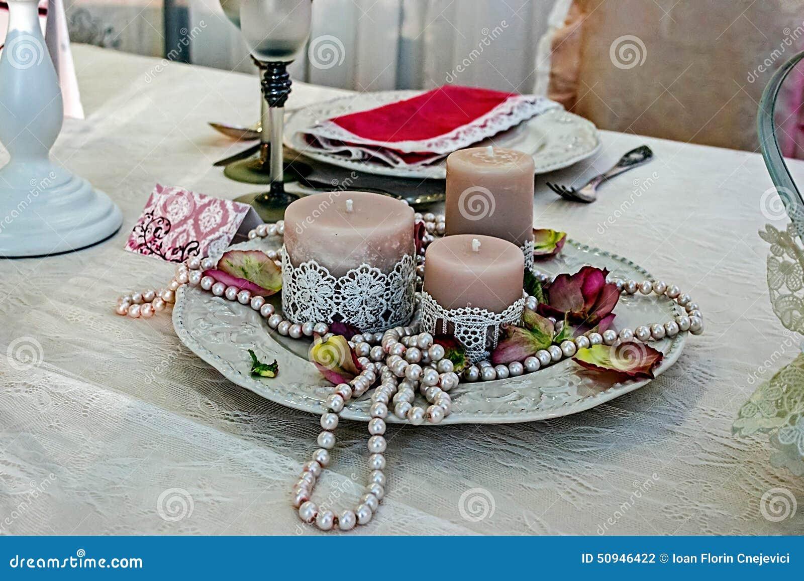Arreglo para una cena romántica -4