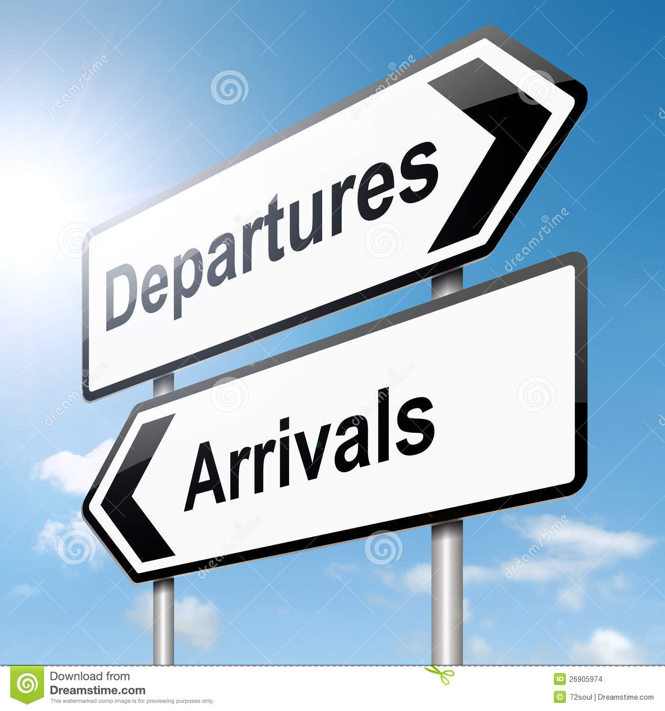 Arrivals and departures stock images image 26905974 - Felpudo arrivals departures ...